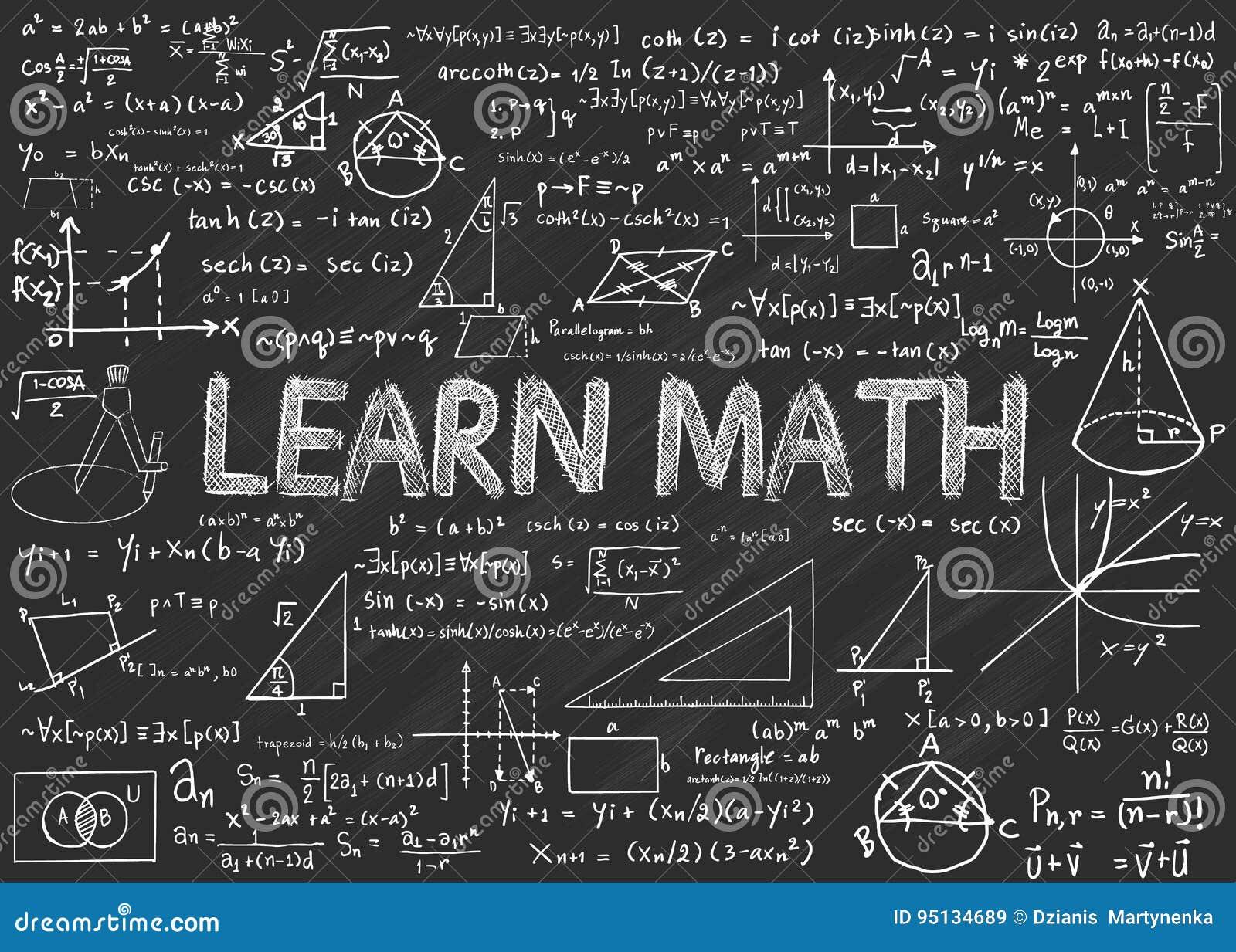 Apprenez le tableau de maths