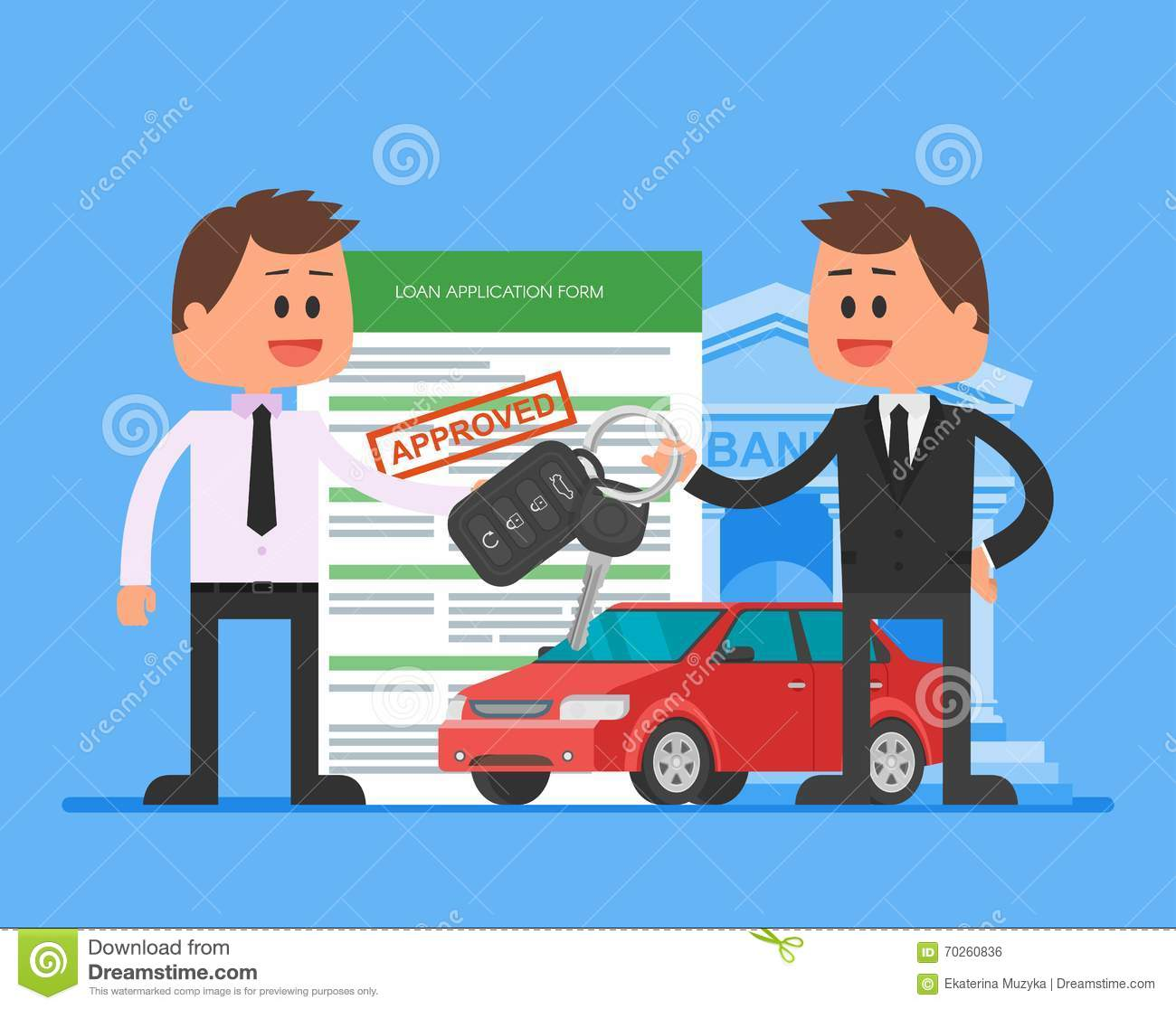 Car Loan Your Job Is Your Credit
