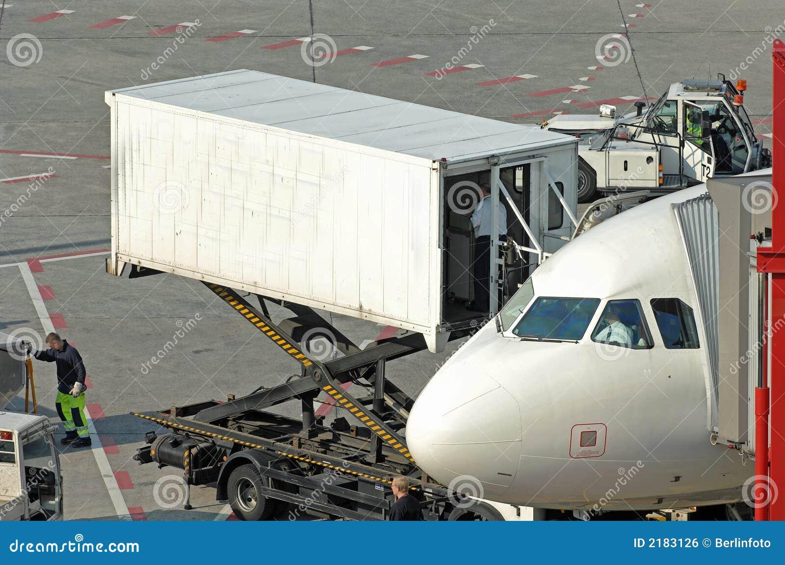 Approvisionnement à l aéroport