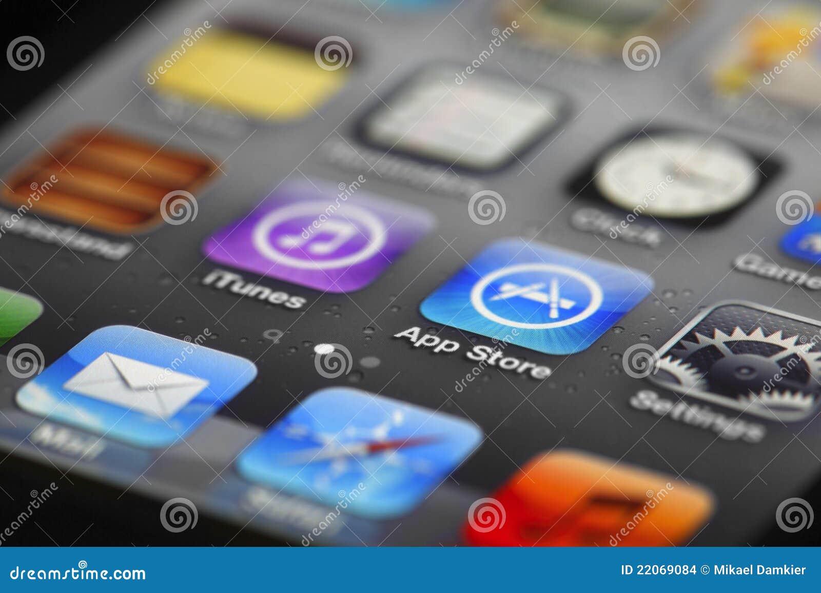 Apps di IPhone e memoria di app