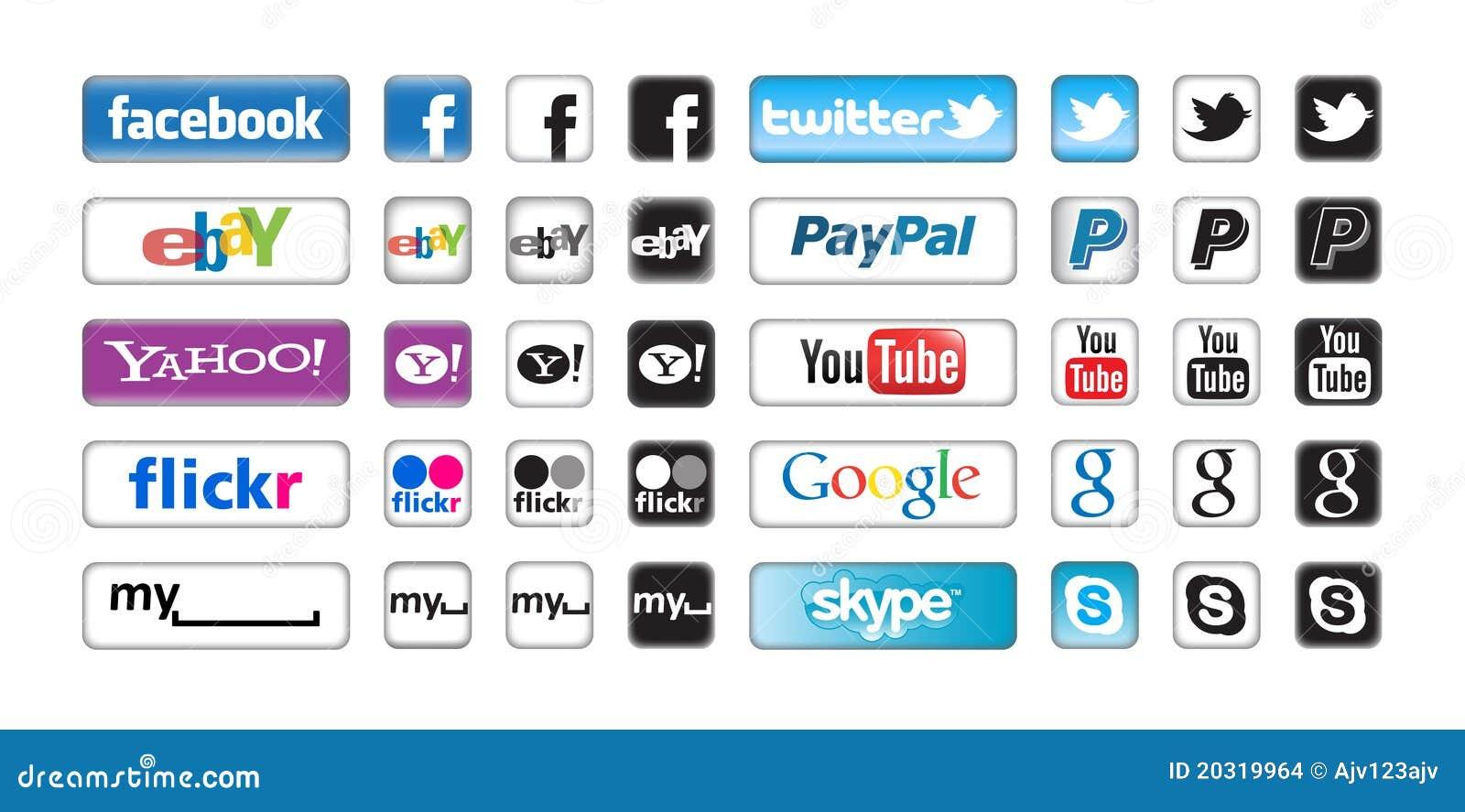 Apps guzików networking socjalny