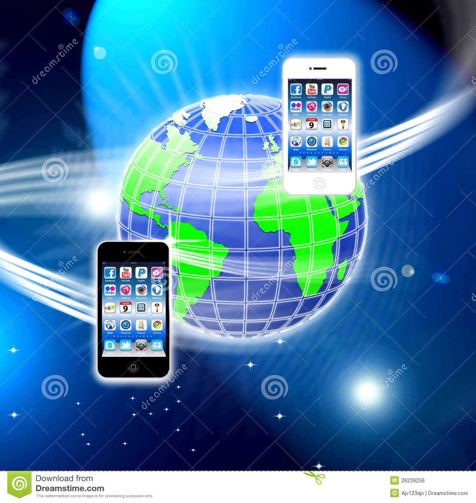 Apps sur un réseau sans fil mobile bloqué