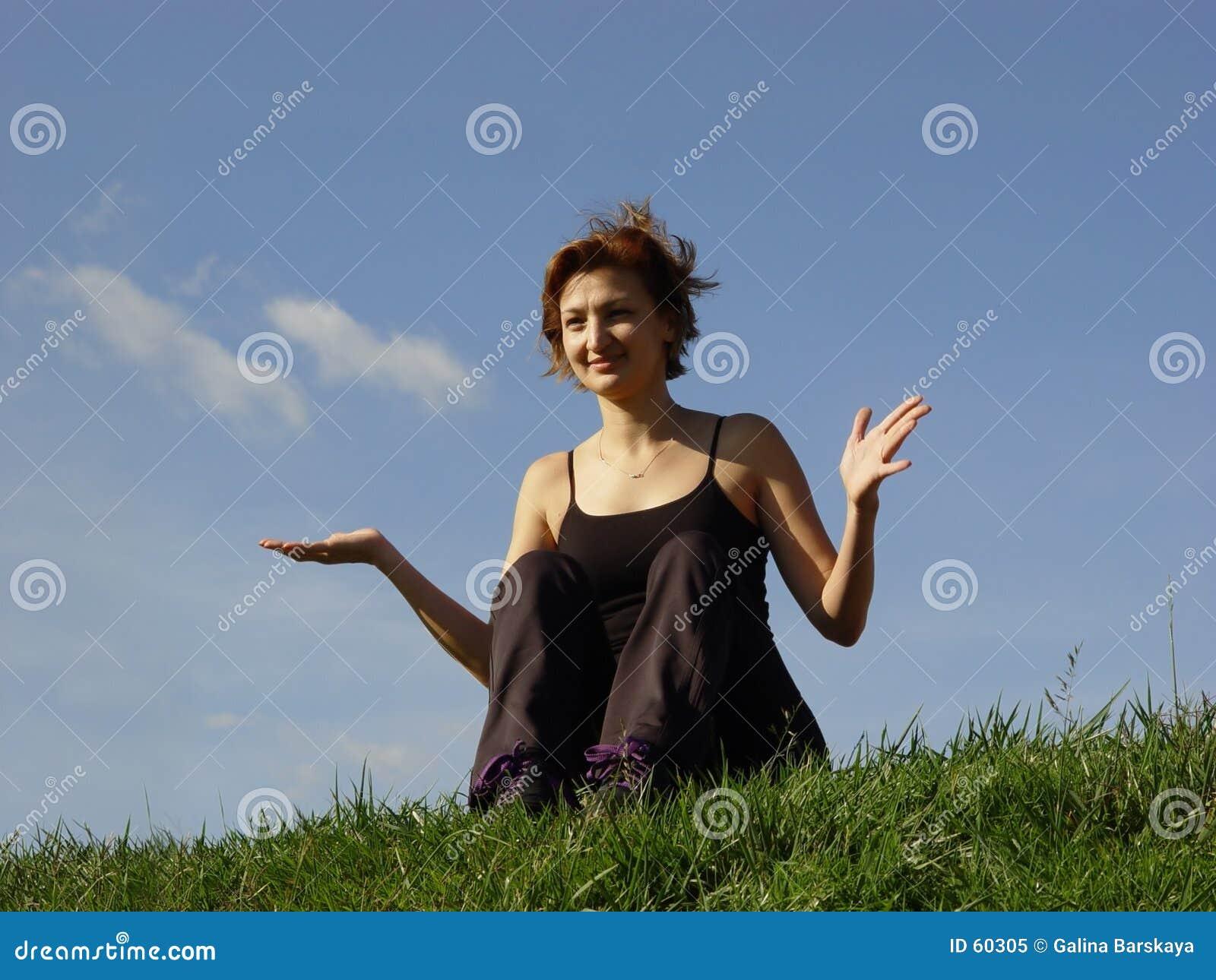 Apreciando a vida ao ar livre