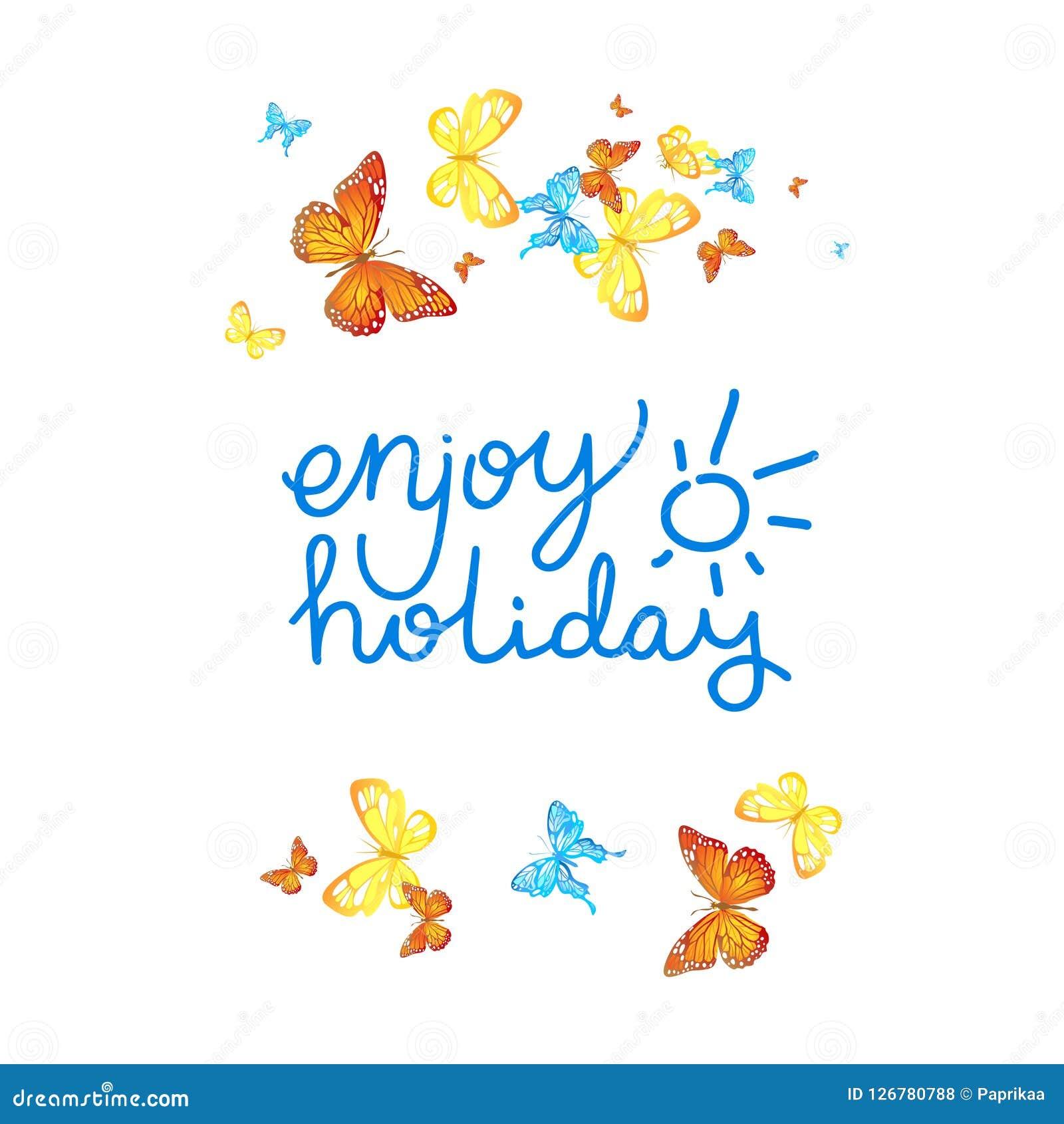 Aprecie o cartão do feriado