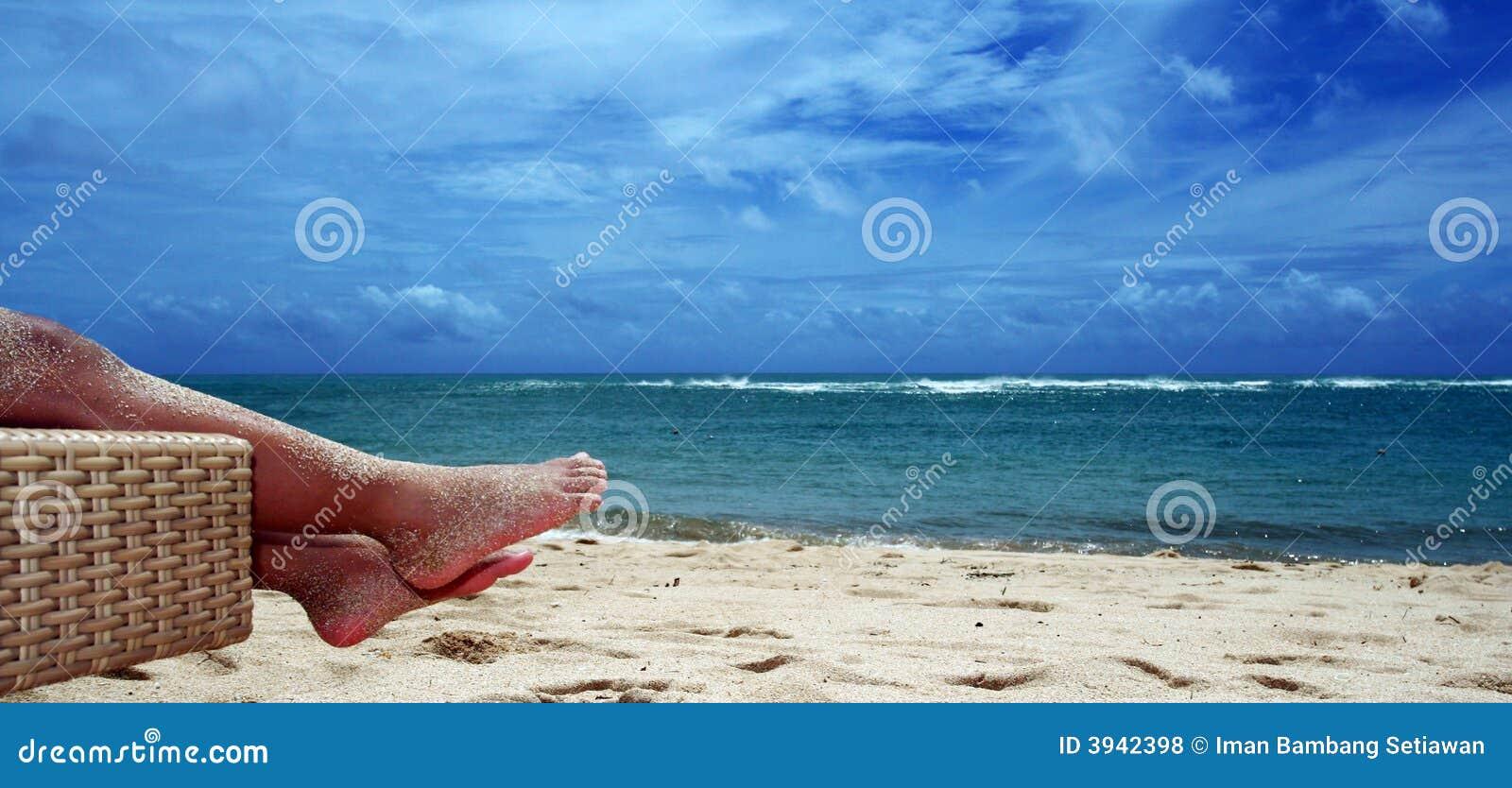 Aprecie a praia