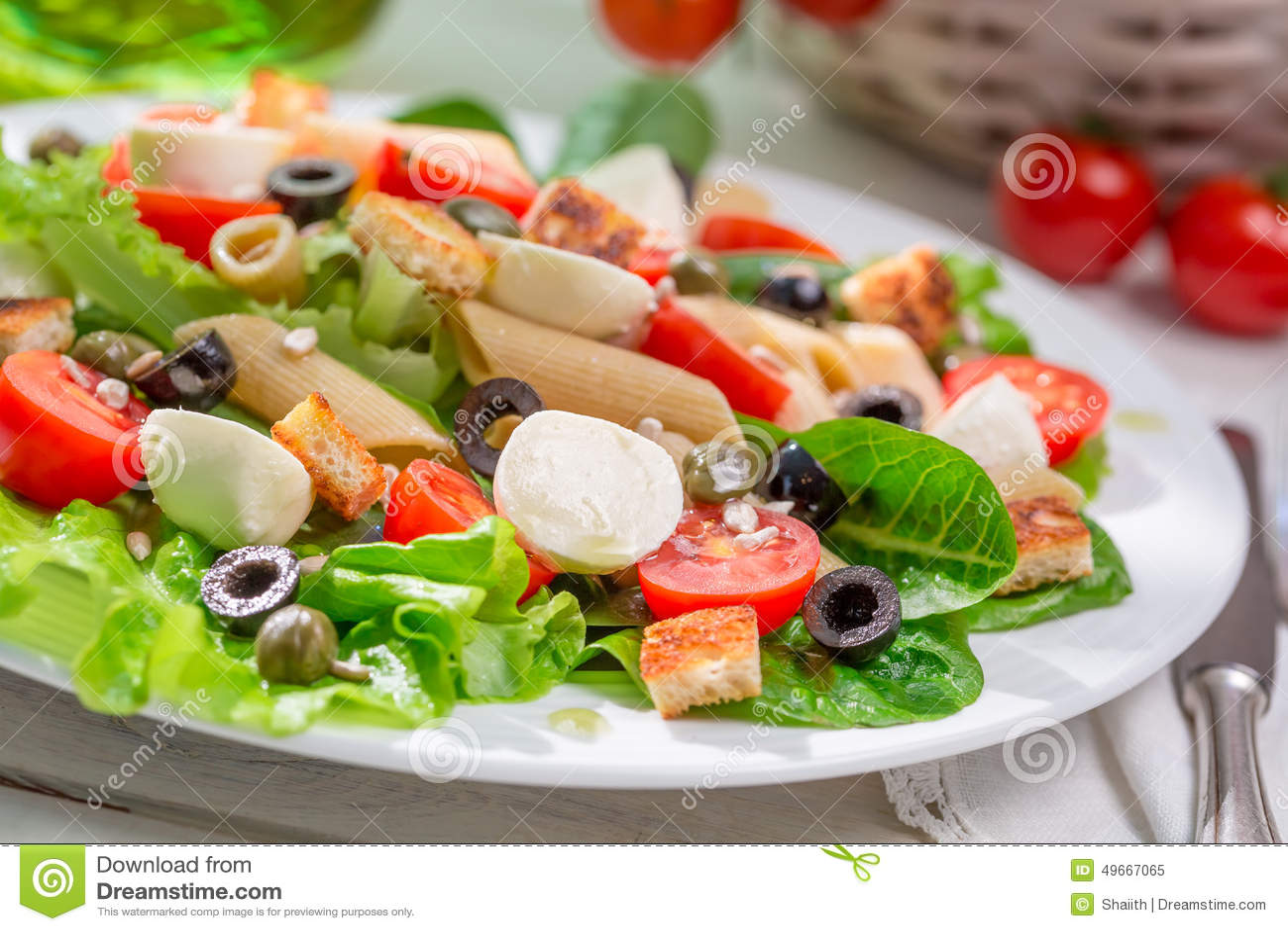 Aprecie sua salada da mola