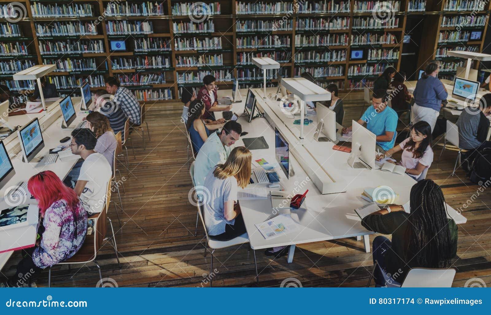 Aprendendo a inspiração da inteligência da biblioteca caçoa o conceito
