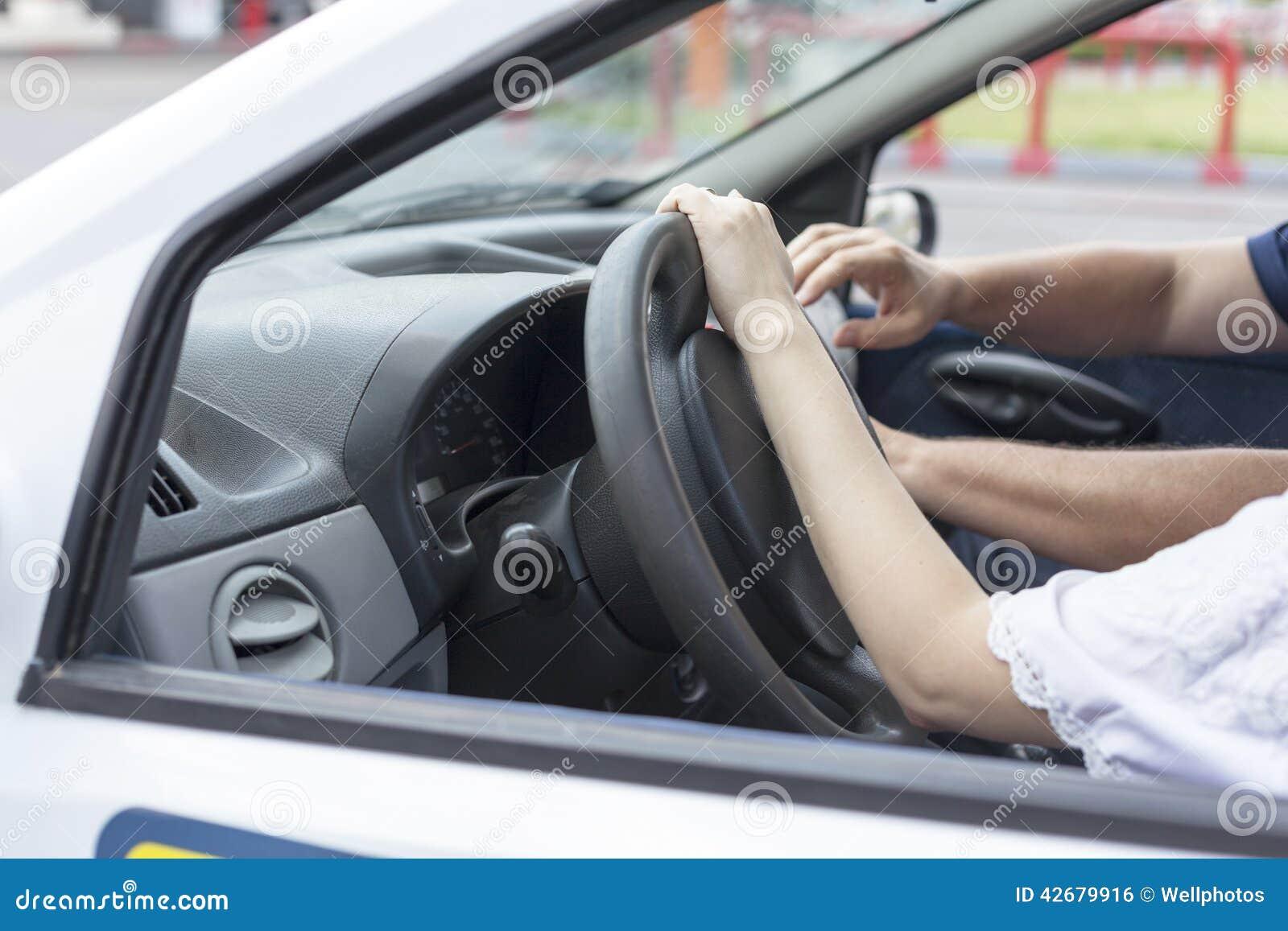 Aprendizagem conduzir um carro