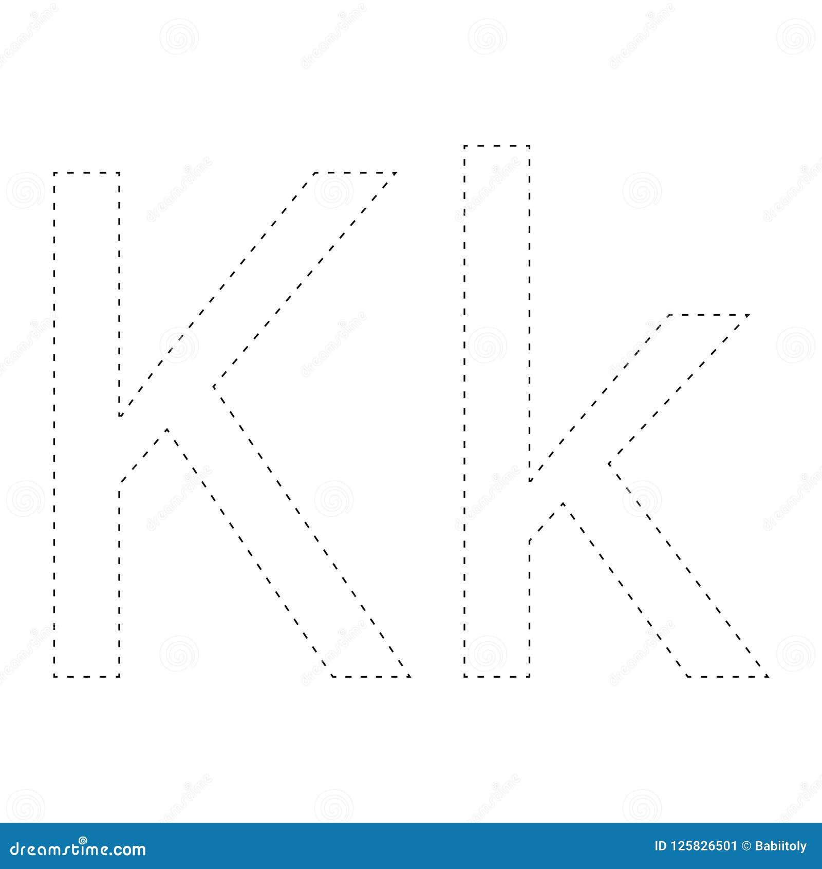 Aprendizaje de alfabeto, letra worksheet Aprendizaje de alfabeto Conecte los puntos y la página del colorante Juego para los cabr