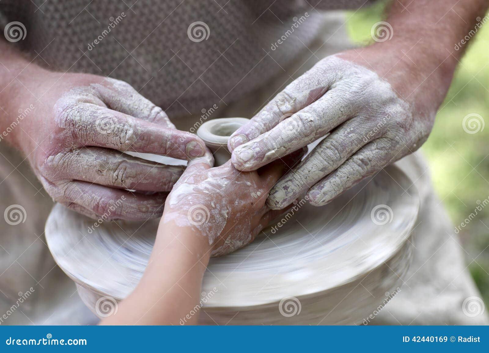 Aprendizaje de la cerámica