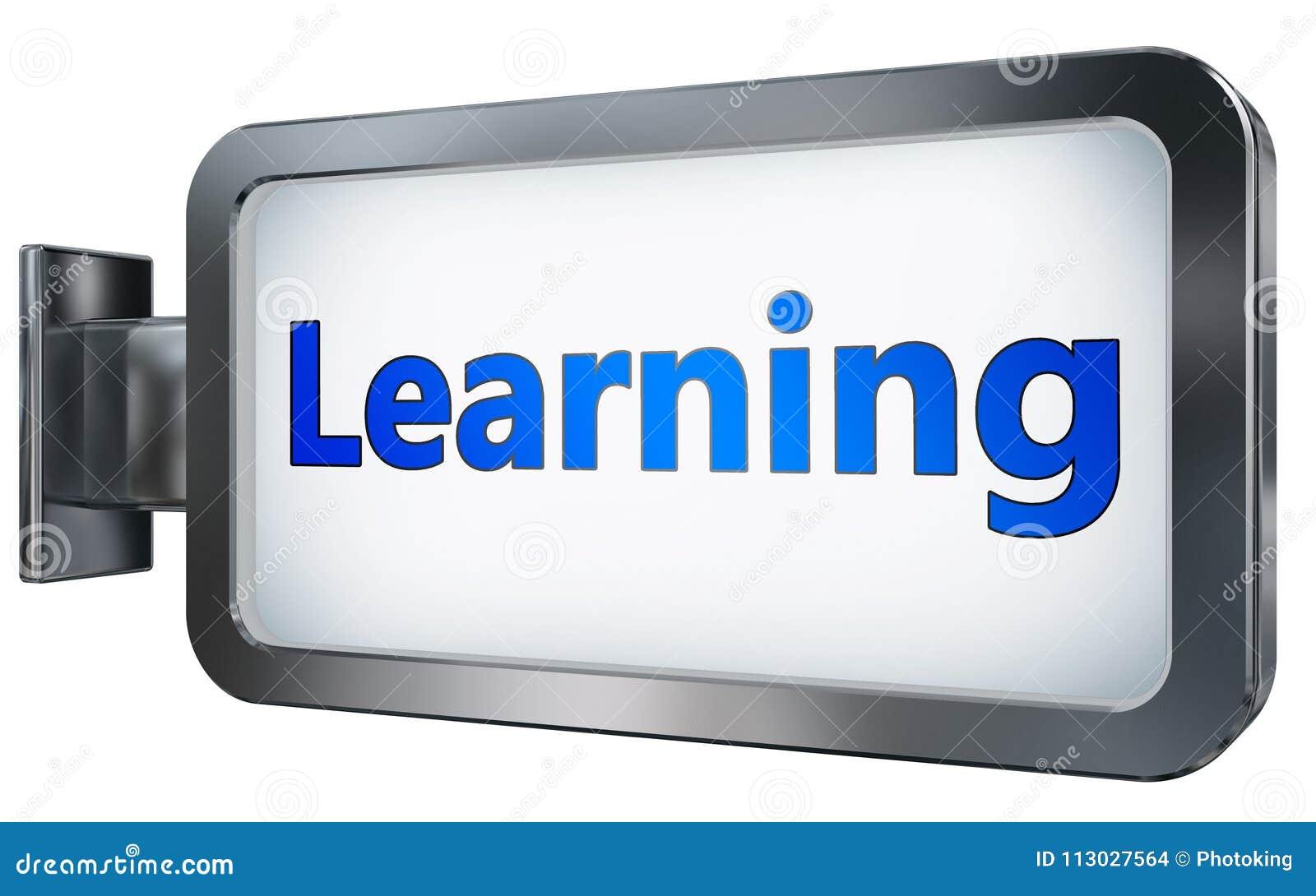 Aprendizaje en fondo de la cartelera