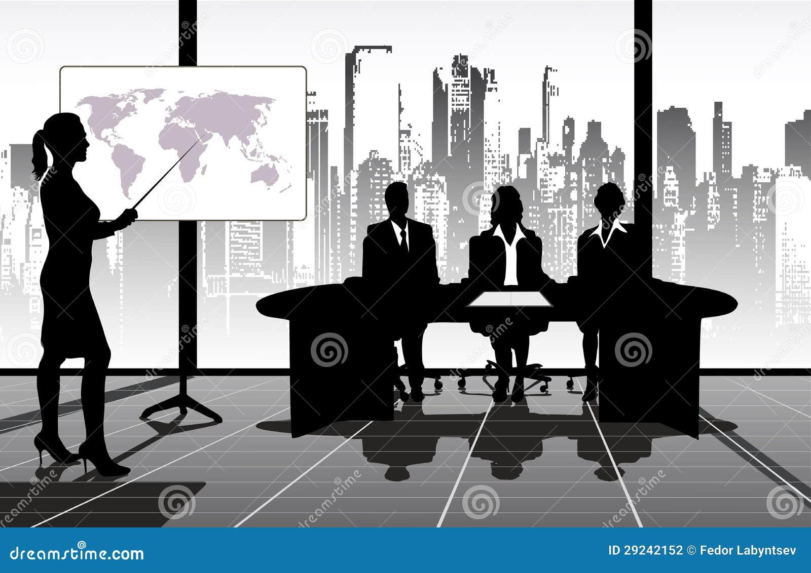 Download Apresentação ilustração stock. Ilustração de homem, negócio - 29242152