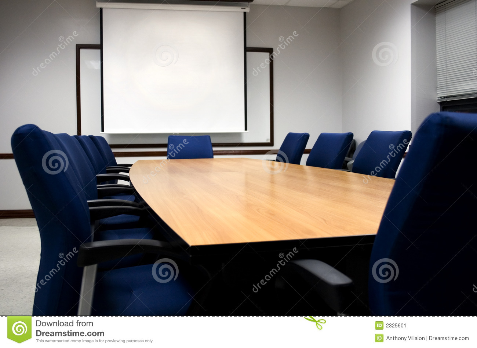 Apresentação da sala de reuniões