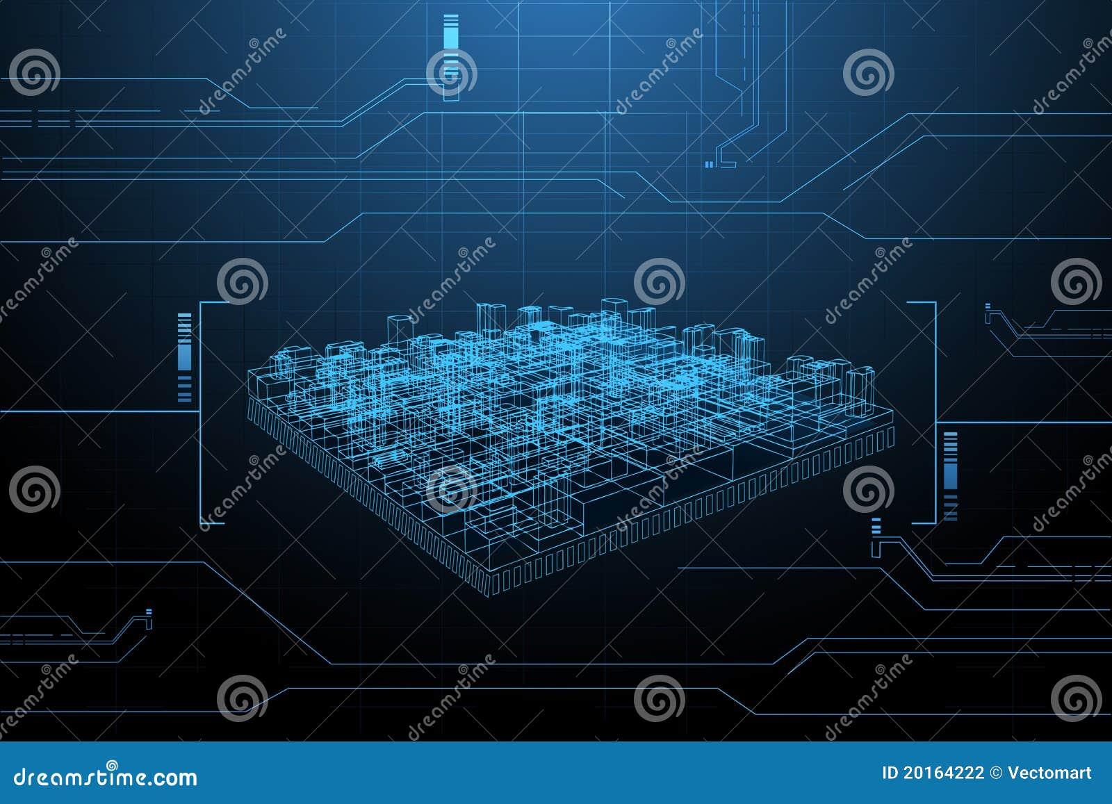 Apresentação do frame do fio do edifício