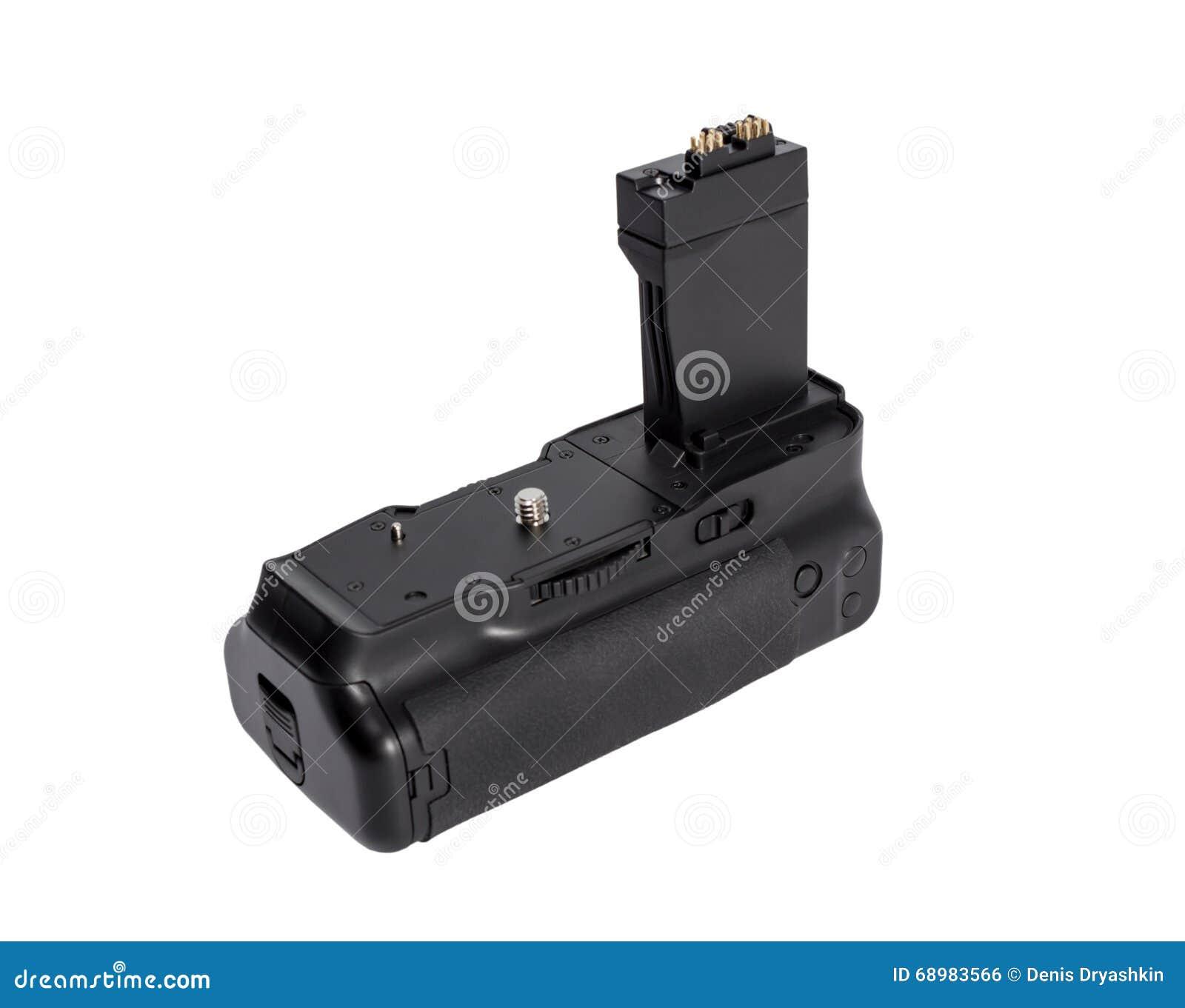 Apretón de la batería para la cámara moderna de DSLR