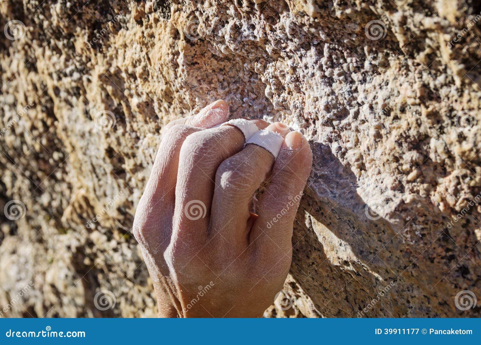 Apretón de la encrespadura del escalador