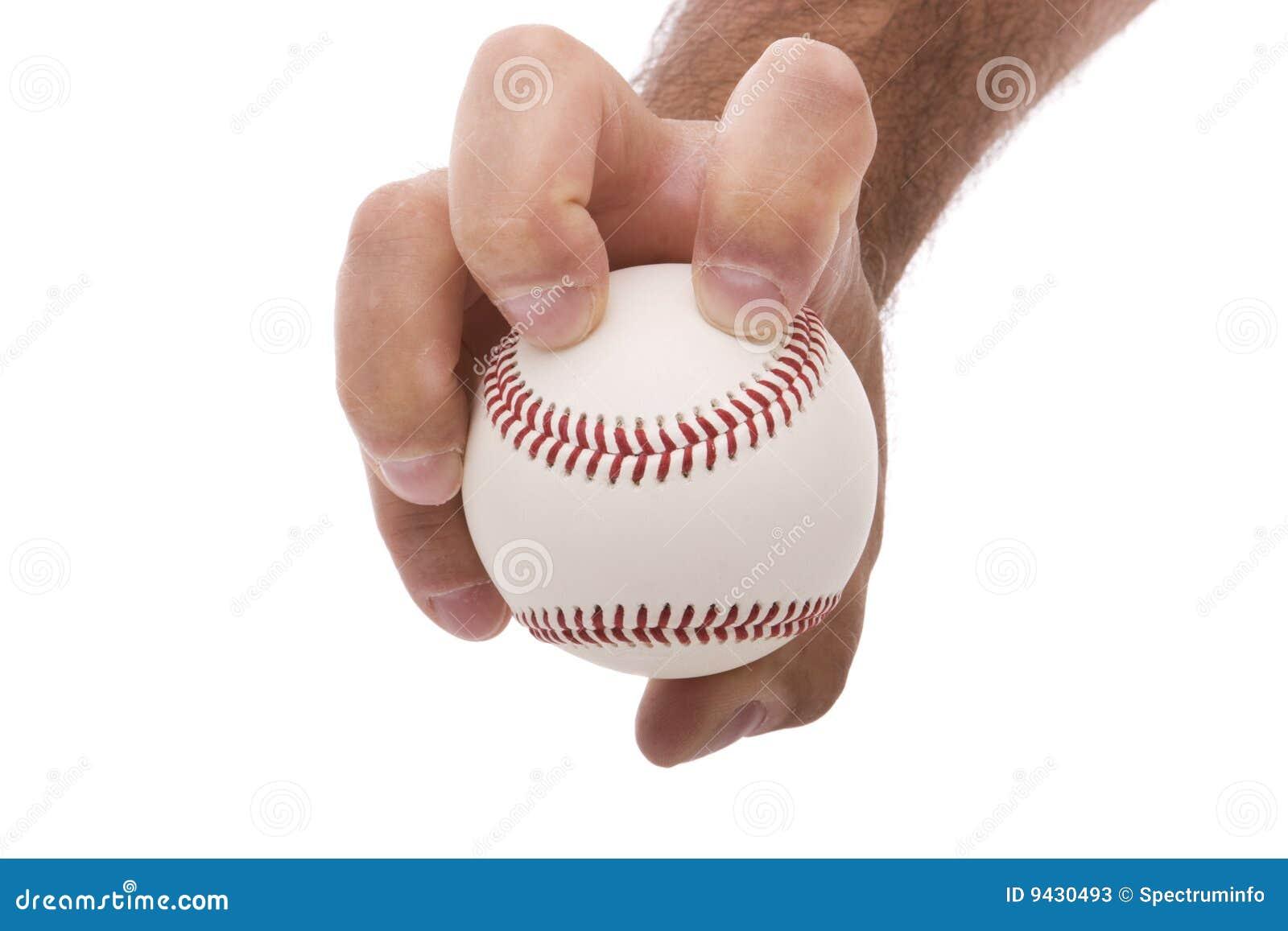 Apretón del cabeceo del béisbol del Knuckleball