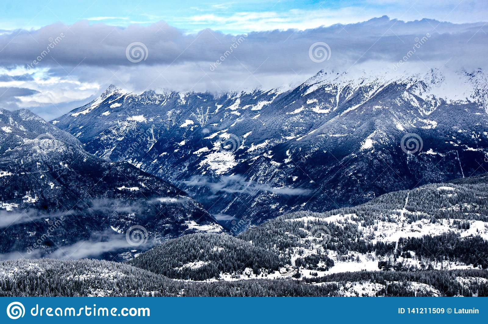 Aprica, Άλπεις της Ιταλίας
