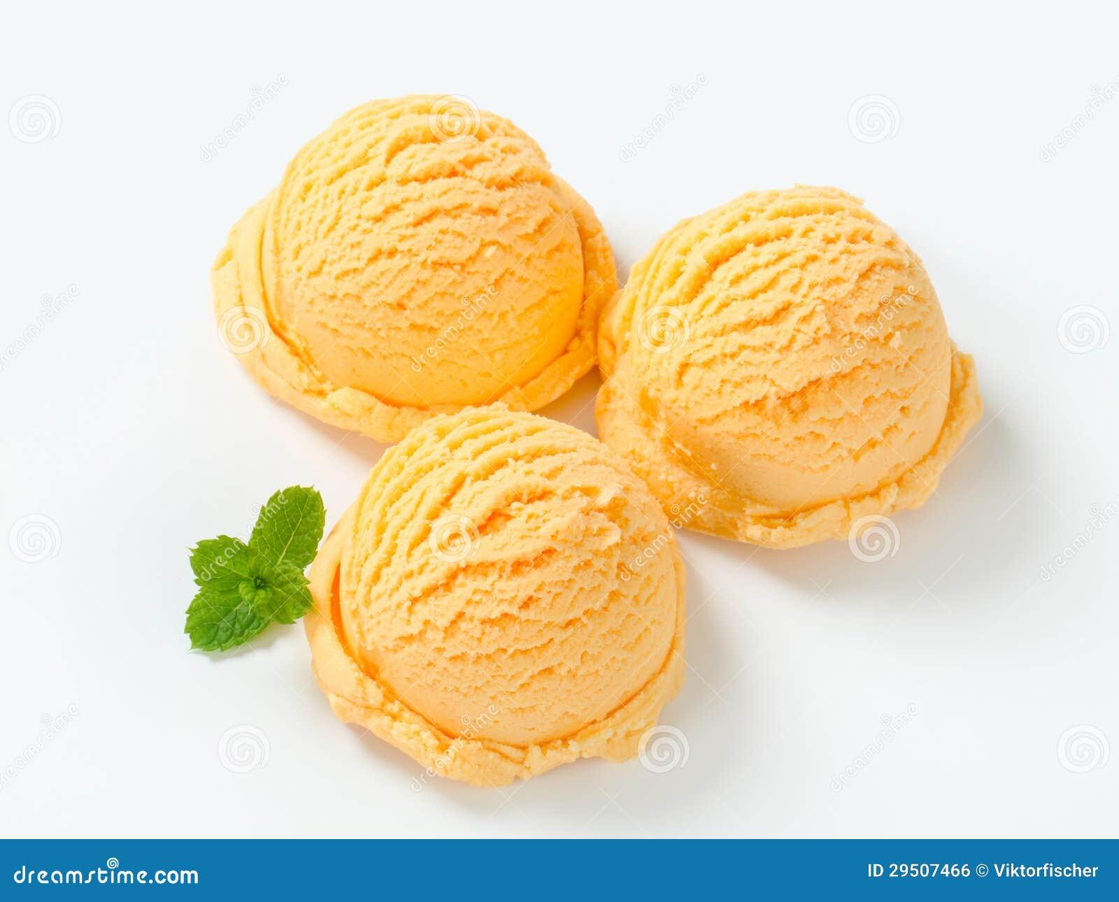 Apricot Zabaglione Ice Cream Recipe — Dishmaps