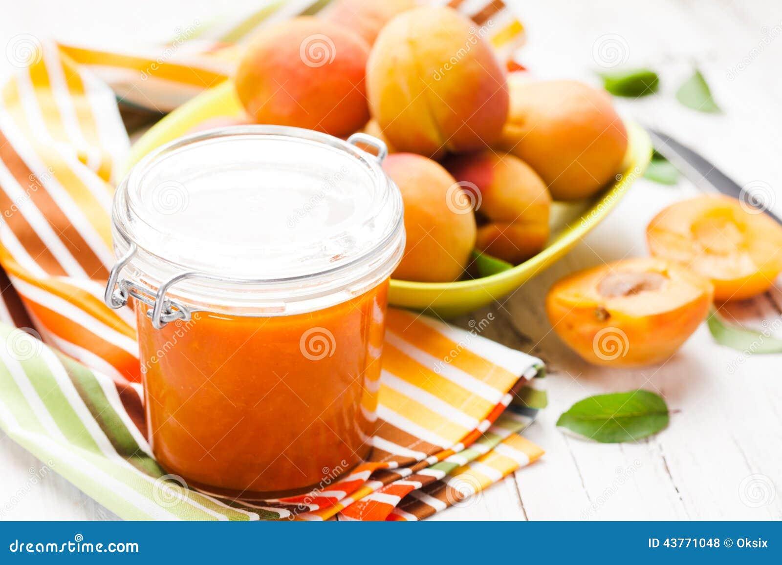 Apricot Jam Stock Photo - Image: 43771048