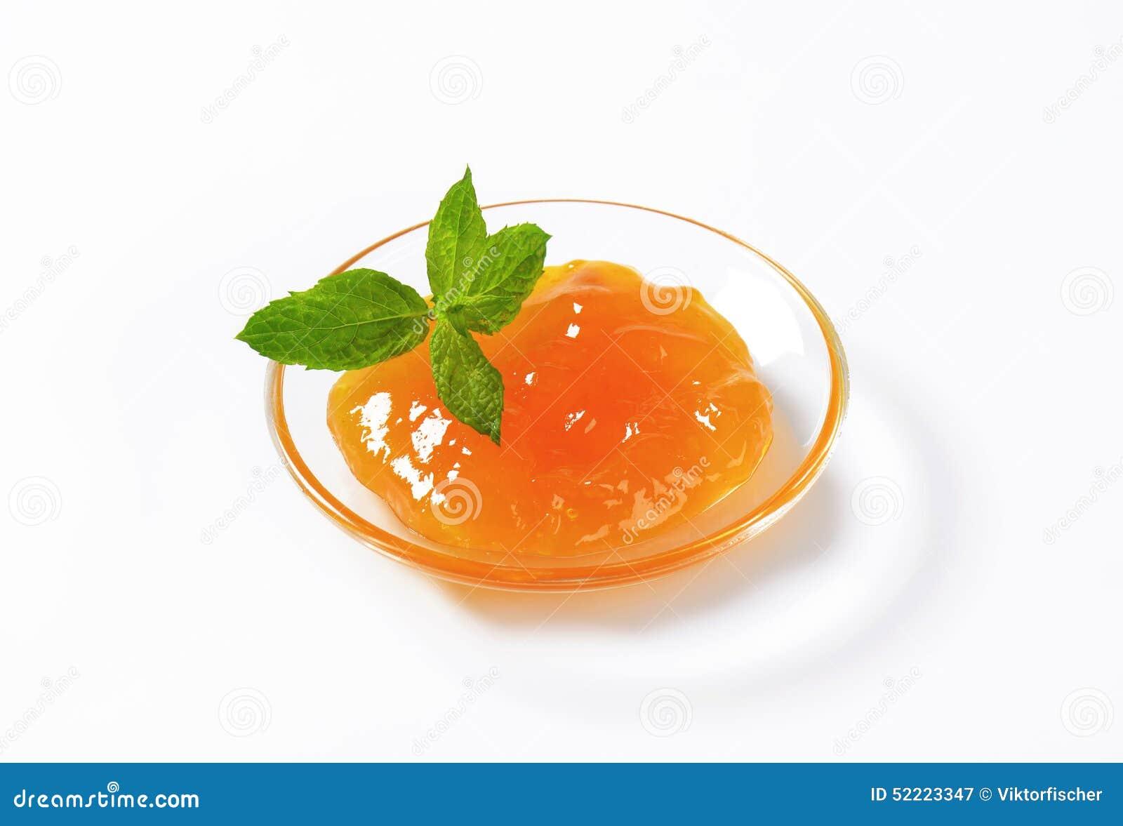 Apricot Jam Stock Photo - Image: 52223347