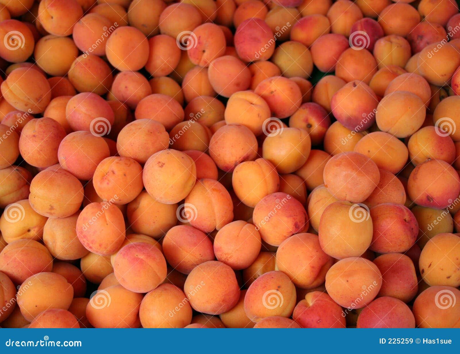 Aprikosförsäljning