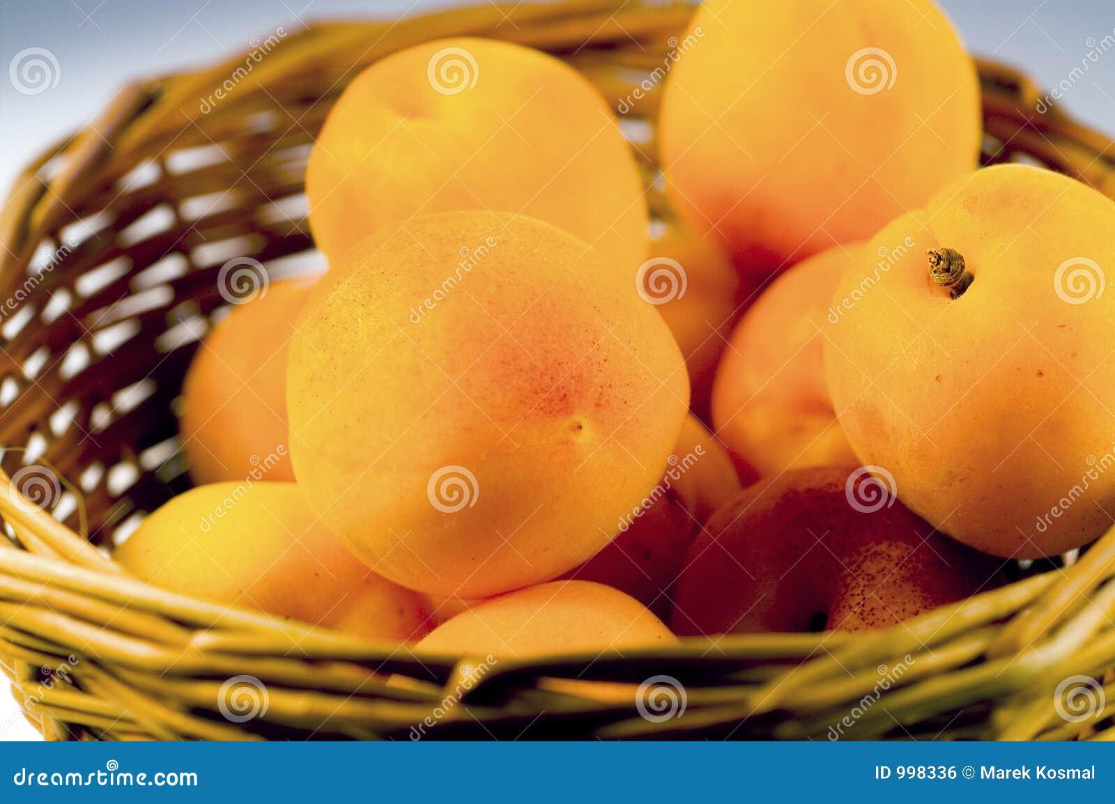 Aprikosfrukter
