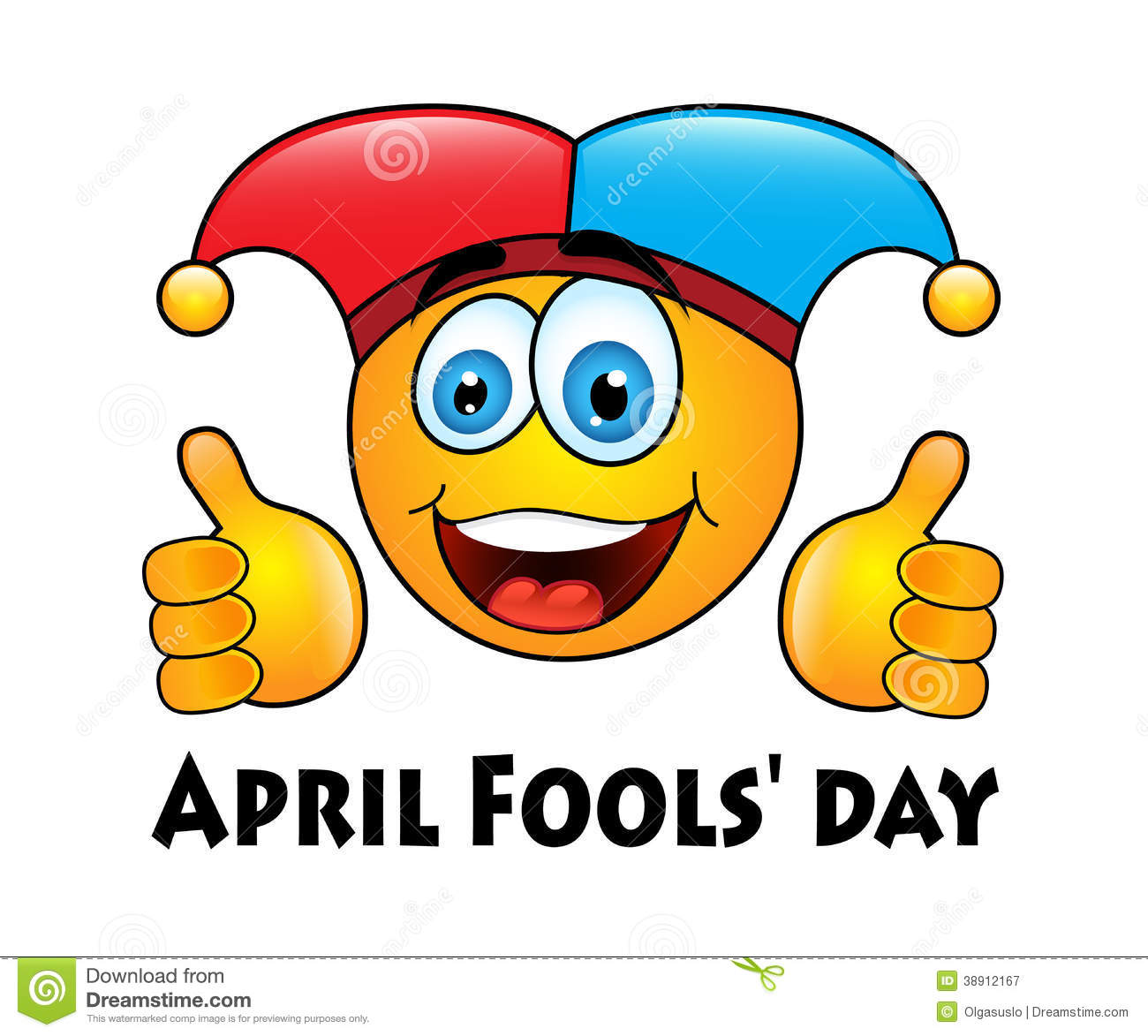 April Fools' Day Stock Illustration - Image: 38912167