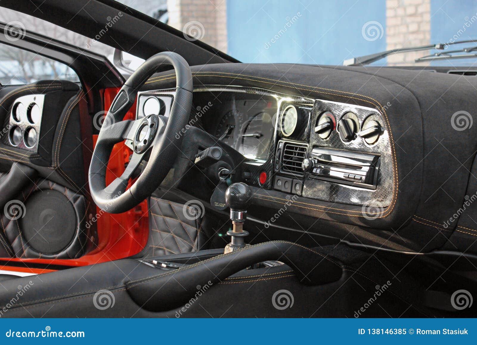 April 12 2016 Kiev Ukraine Jaguar Xj220 Car Interior Luxury Service Car Interior Details Editorial Image Image Of Detail Engine 138146385