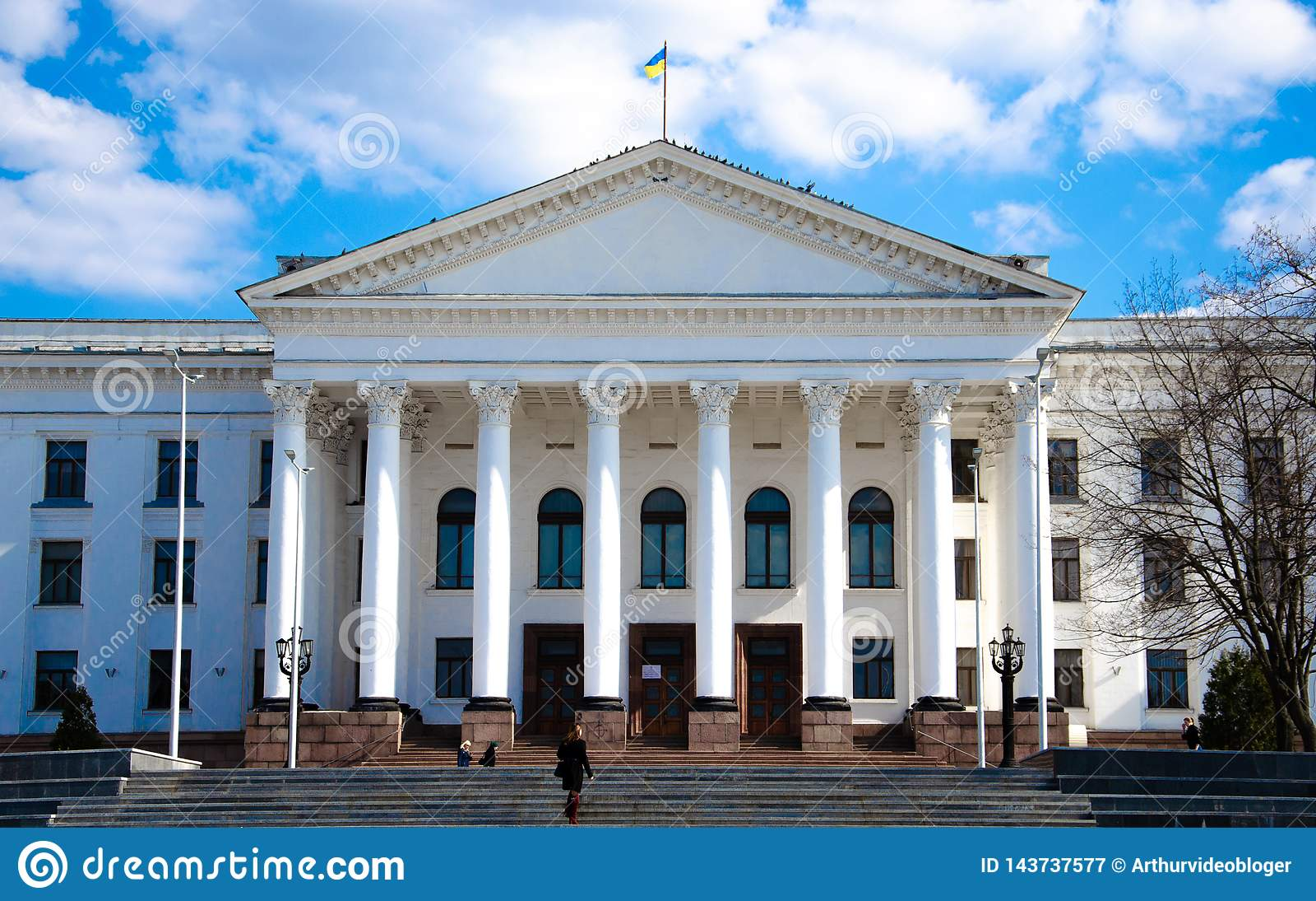 April, 2019 Kramatorsk, de Oekraïne