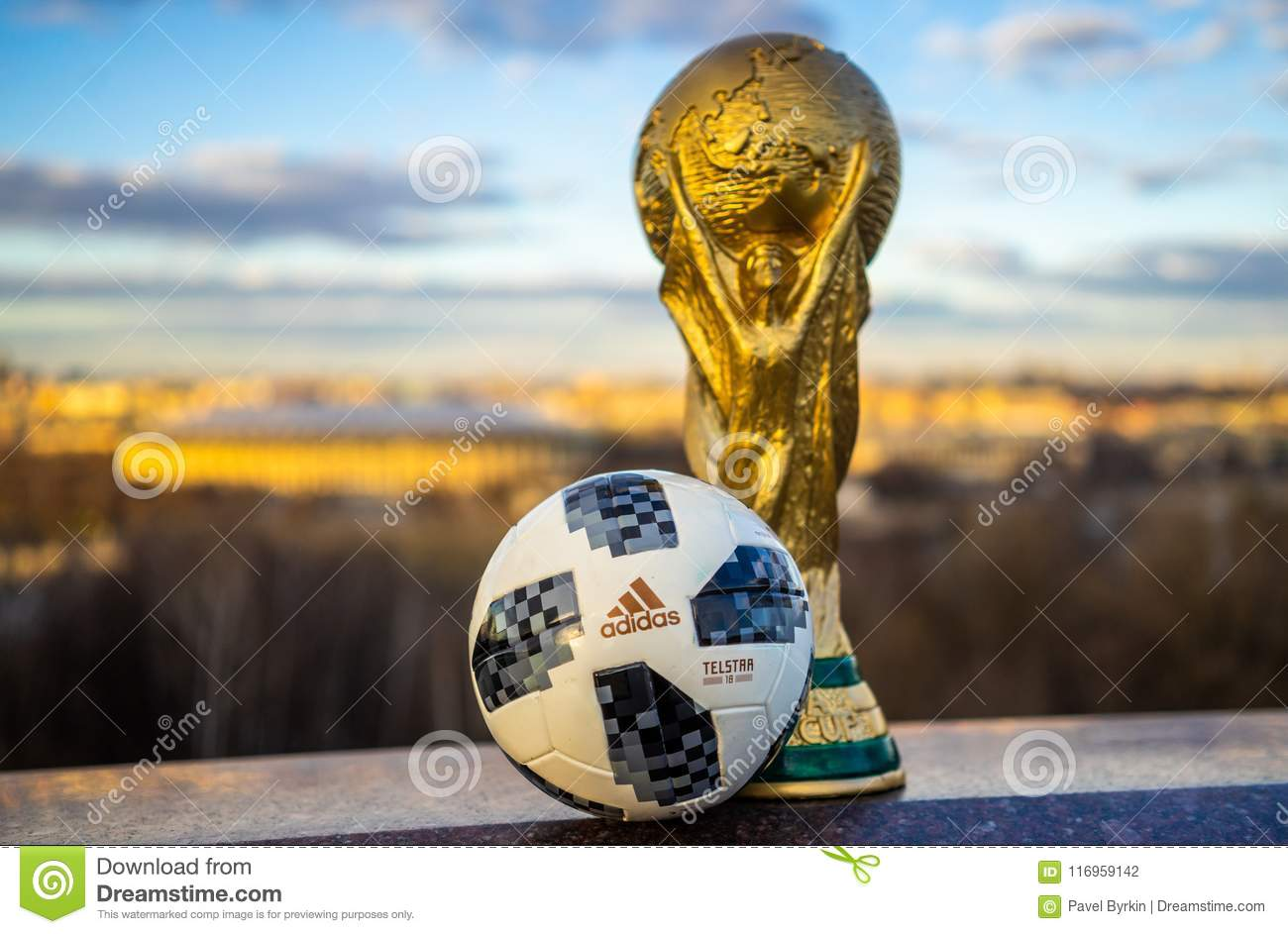 Trophy of the FIFA World Cup