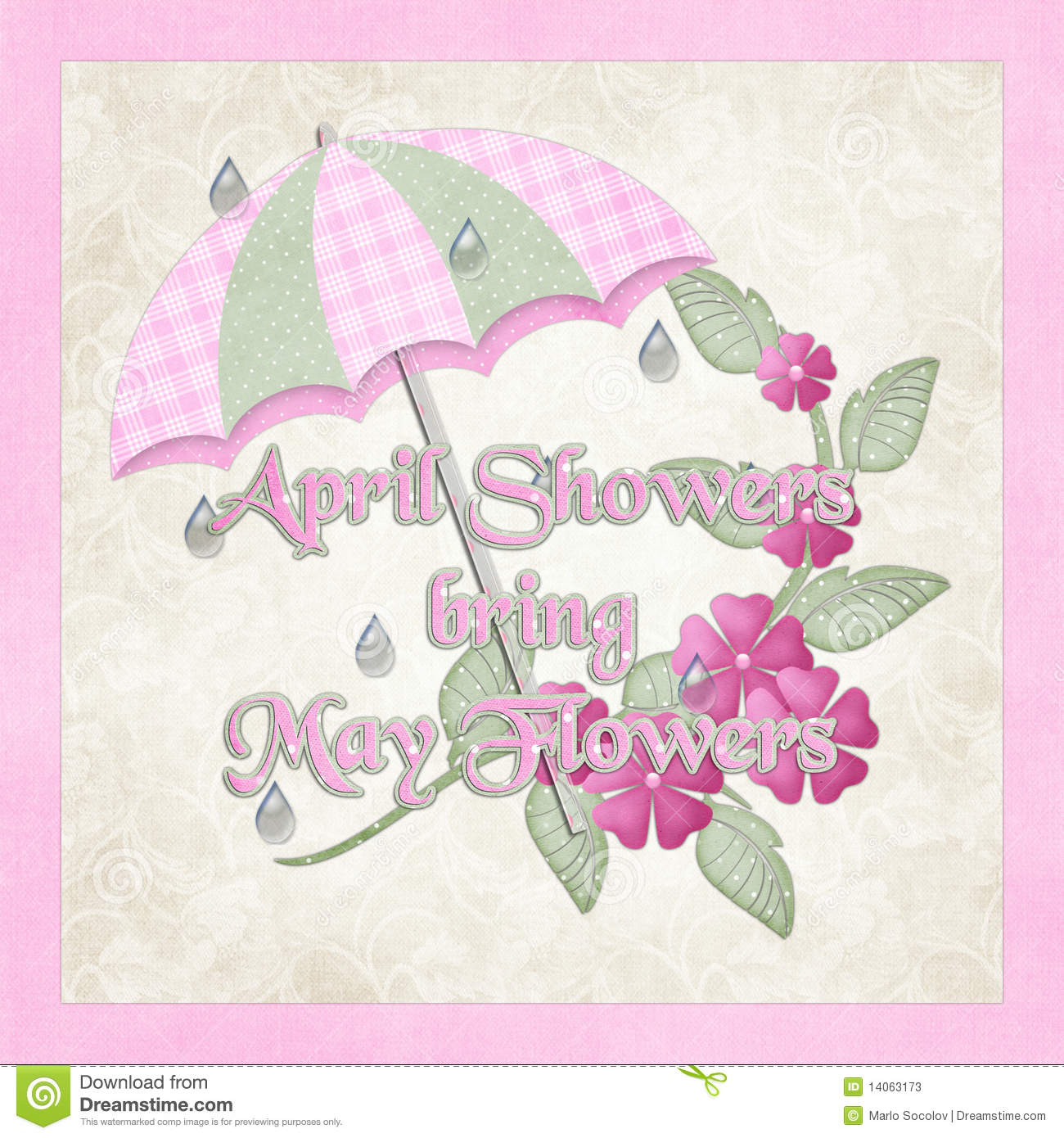 April Showers Bring May Flowers Stock s Image