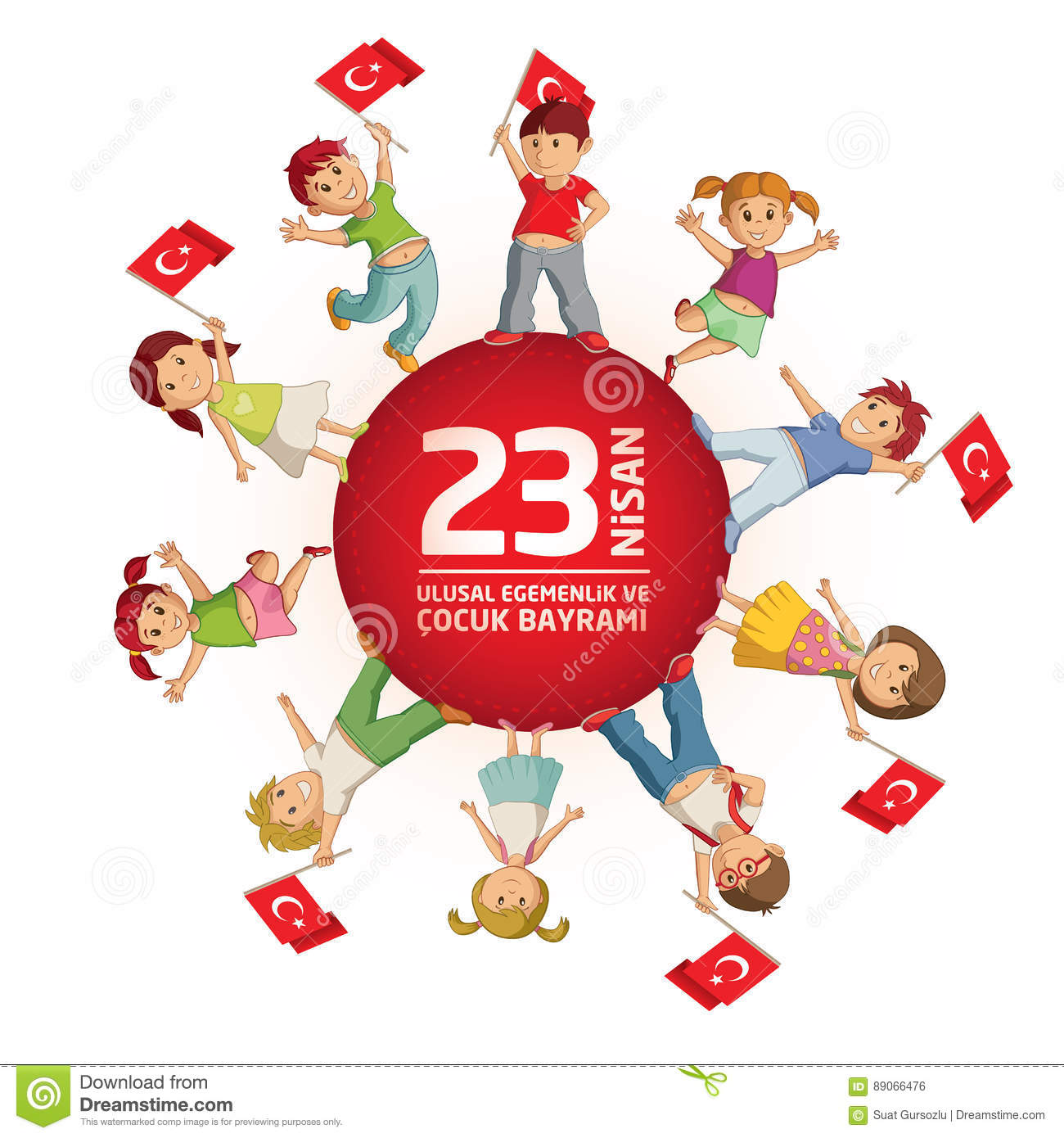 April 23 Turkish National Sovereignty And Childrens Day ...