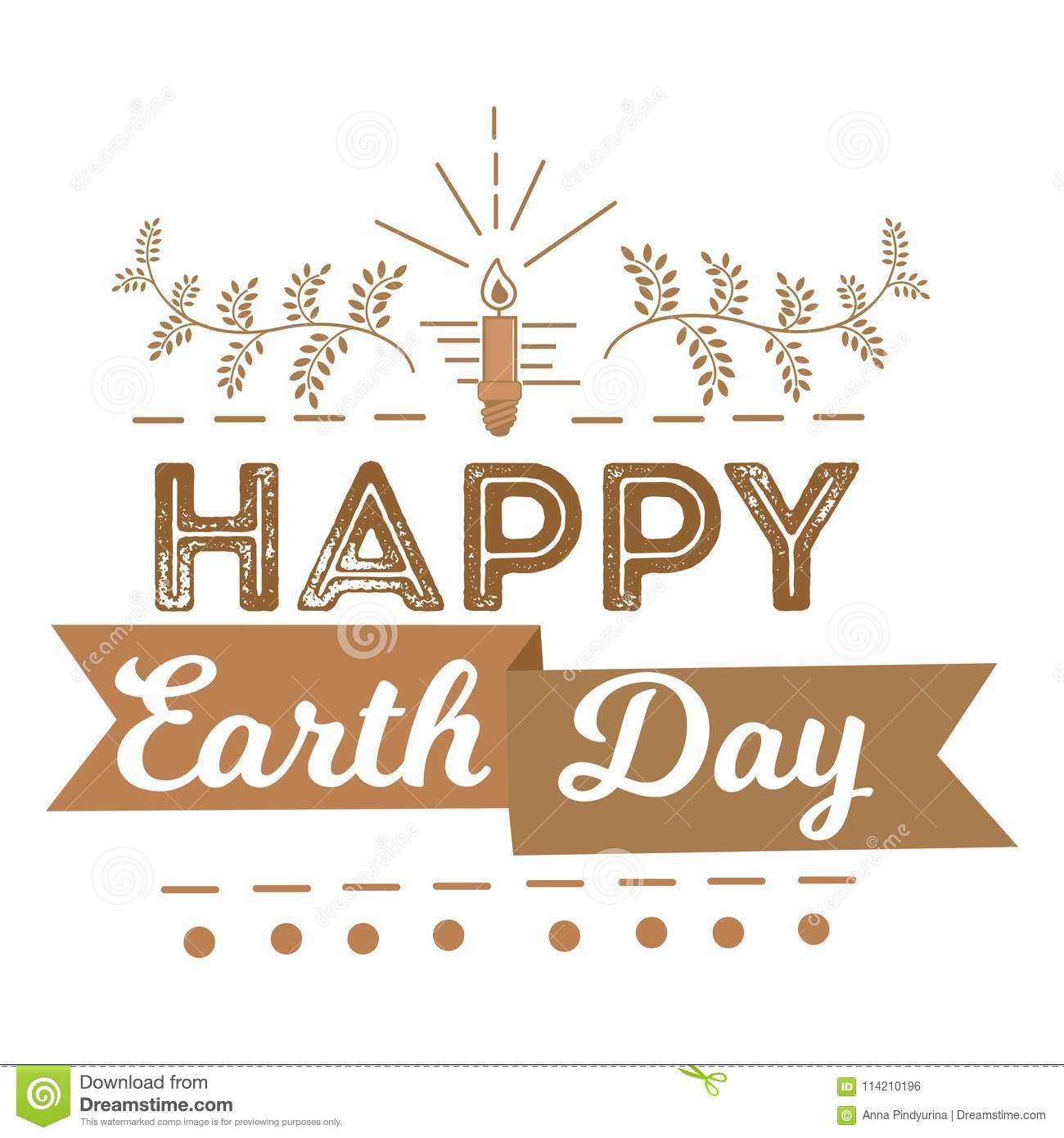 April 22 world earth day logotypes set for greeting cards or banner logotypes set for greeting cards or banner with text m4hsunfo