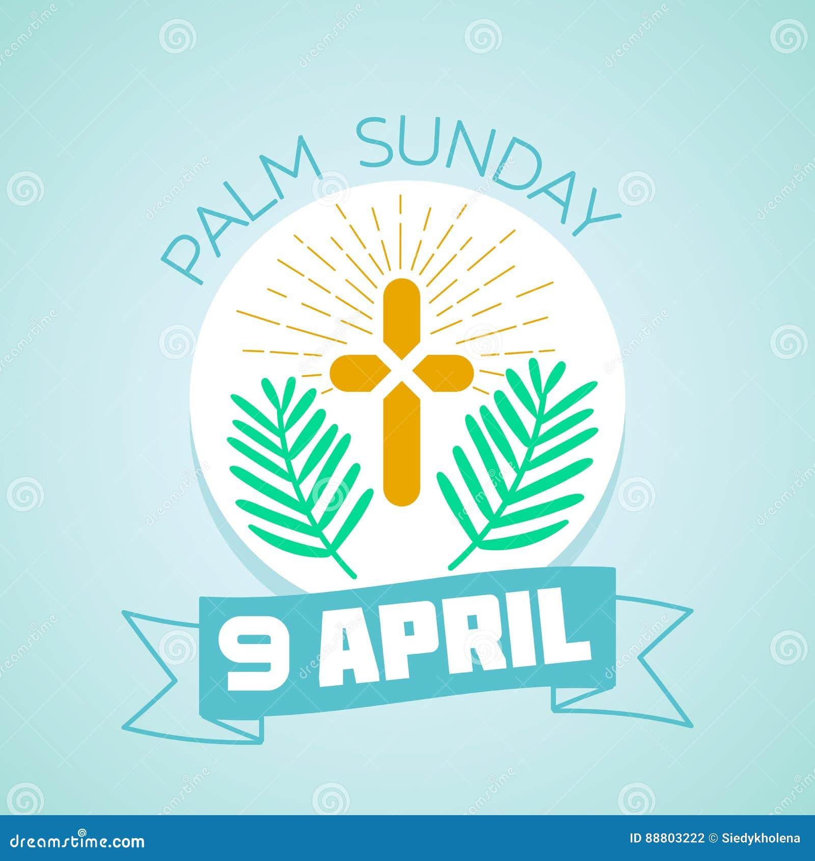 9 aprile Domenica delle Palme