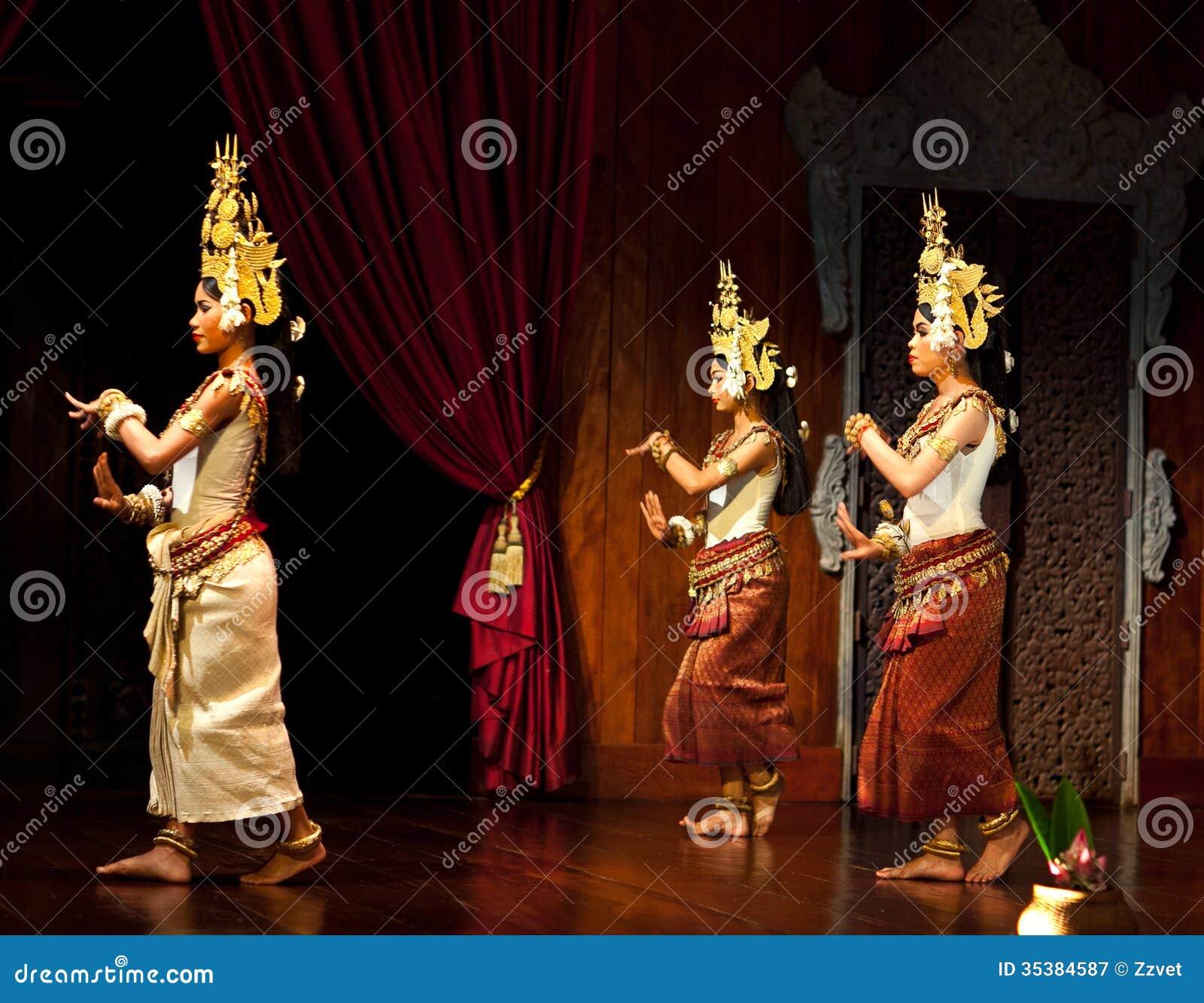 Apsara Dance, Cambodia editorial photography. Image of ...