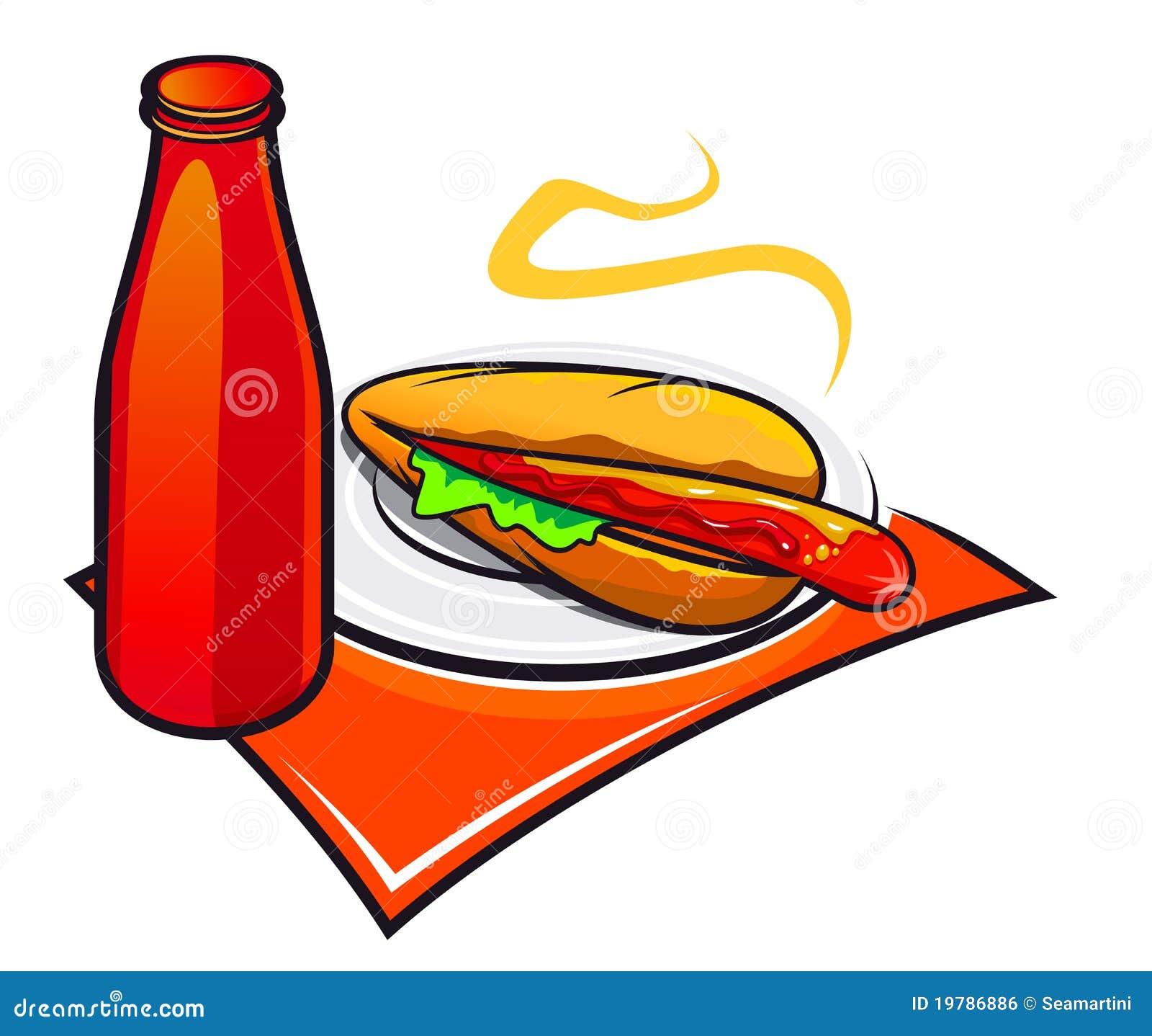 Aptitretande hotdogketchup