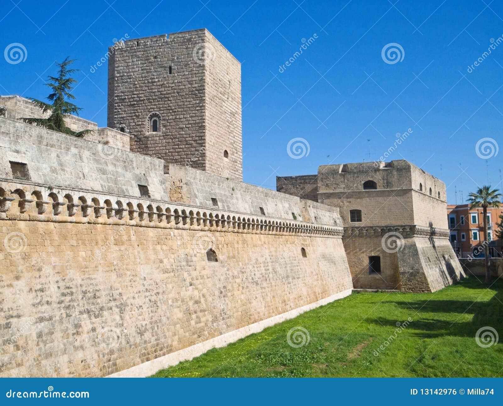 Apuliabari slott norman swabian