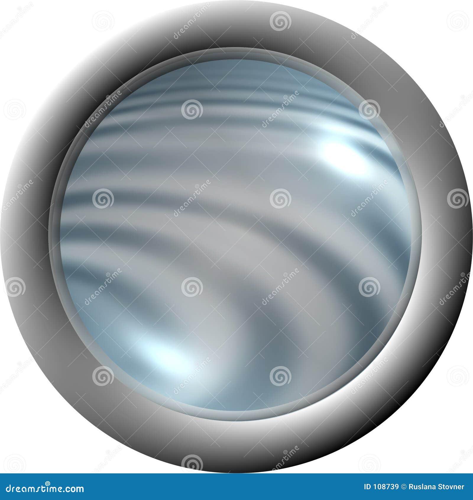 Download Aqua button clear. stock illustration. Illustration of pool - 108739