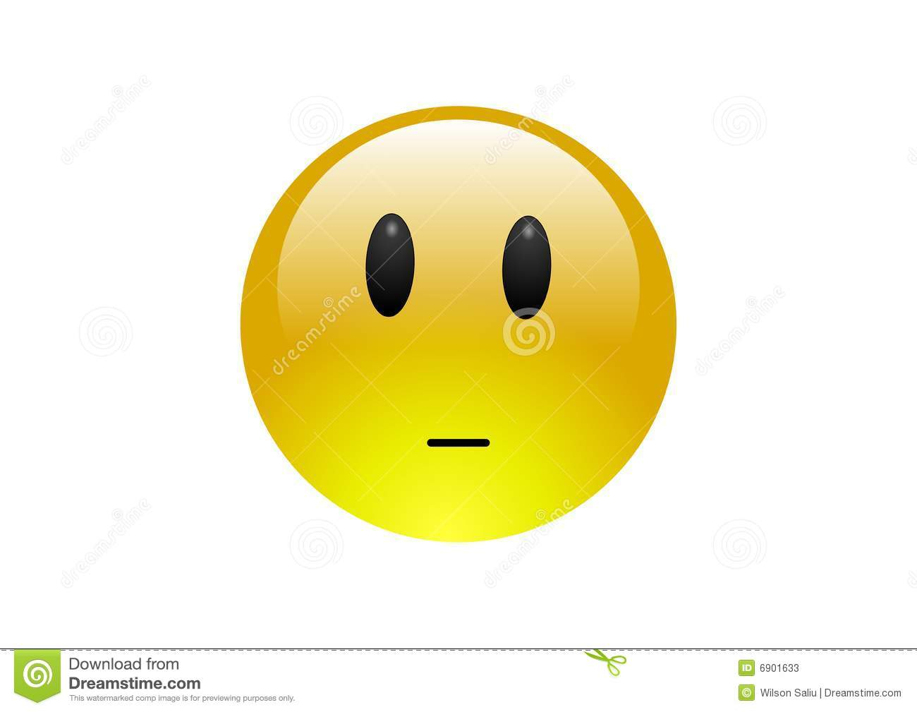 Http Www Dreamstime Com Stock Photos Aqua Emoticons Neutral 2 Image6901633