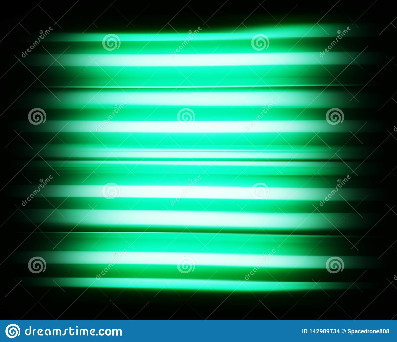 Aqua green scanline tv no signal background