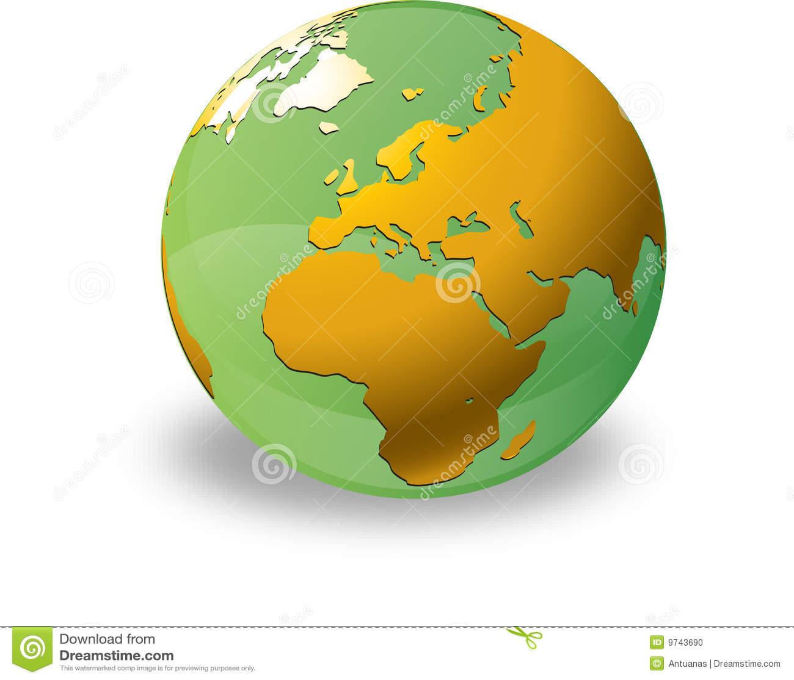 Aqua kuli ziemskiej zieleń