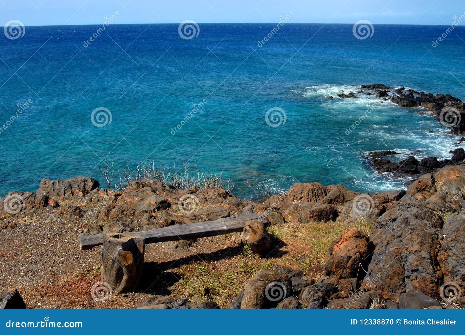 Aqua profondément sur la grande île