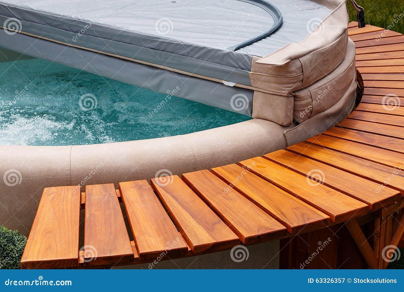 Aqua zdroju gorącej balii pokrywa