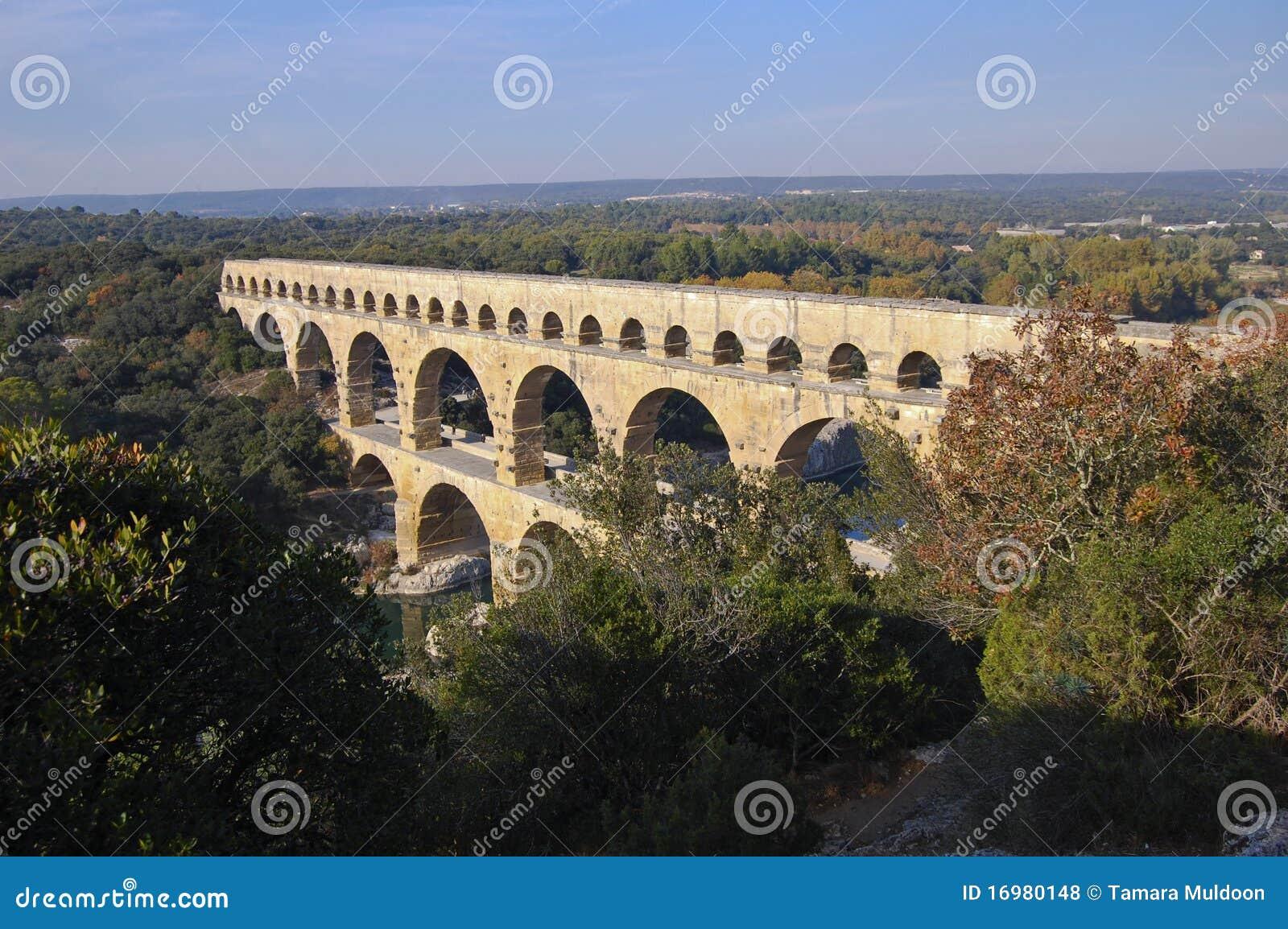 Aquaduct du Gard pont Ρωμαίος