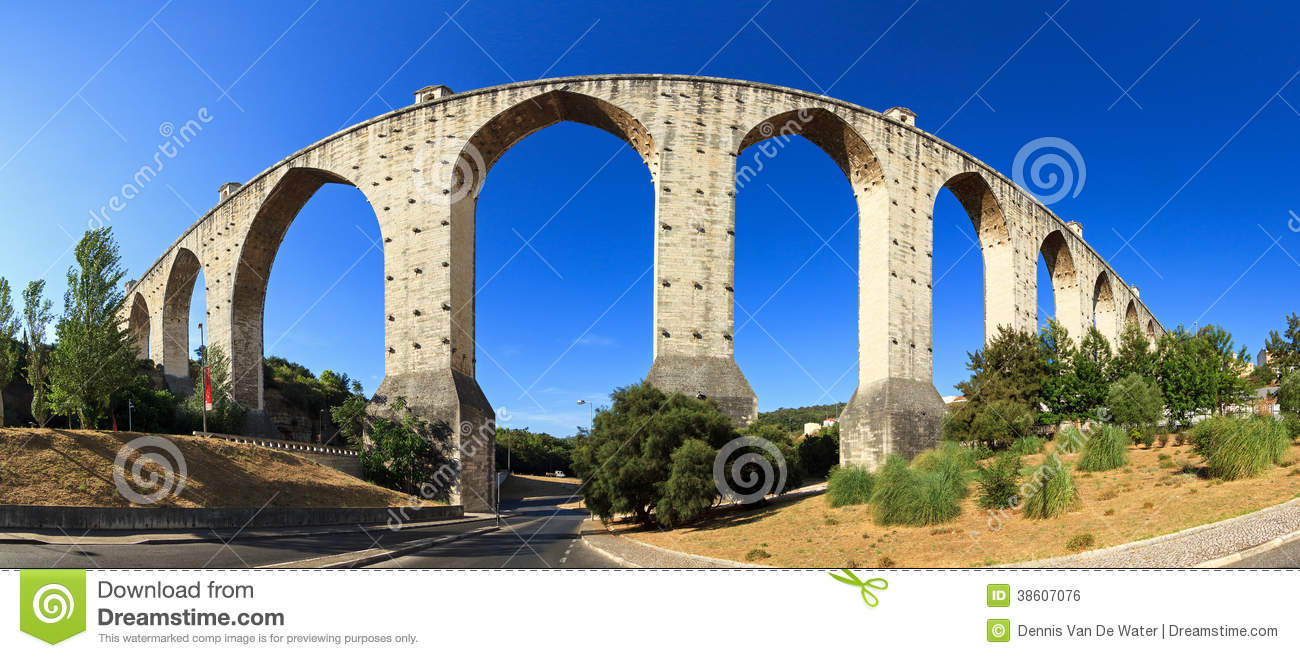 Aquaduct panorama