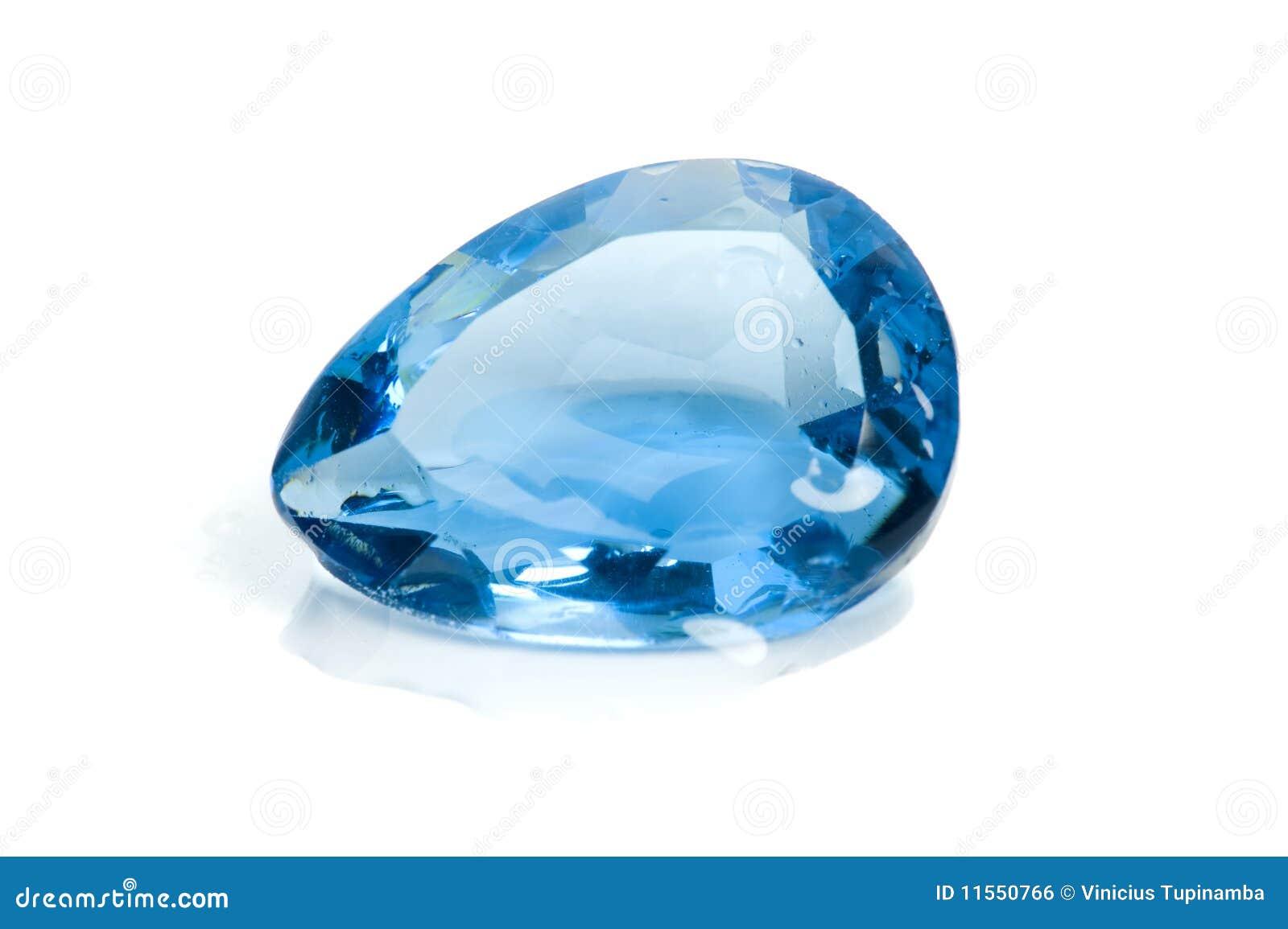 Aquamarine Gem Royalty Free Stock Image Image 11550766