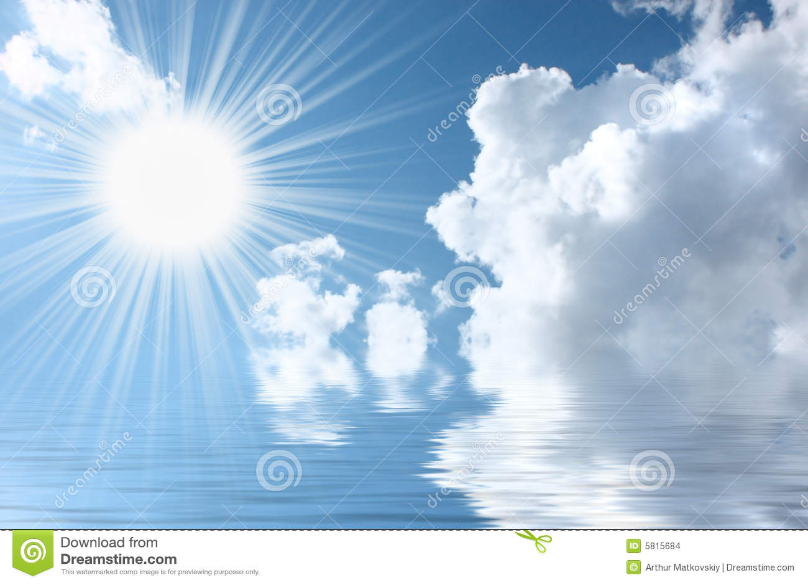 the aquamarinic sky