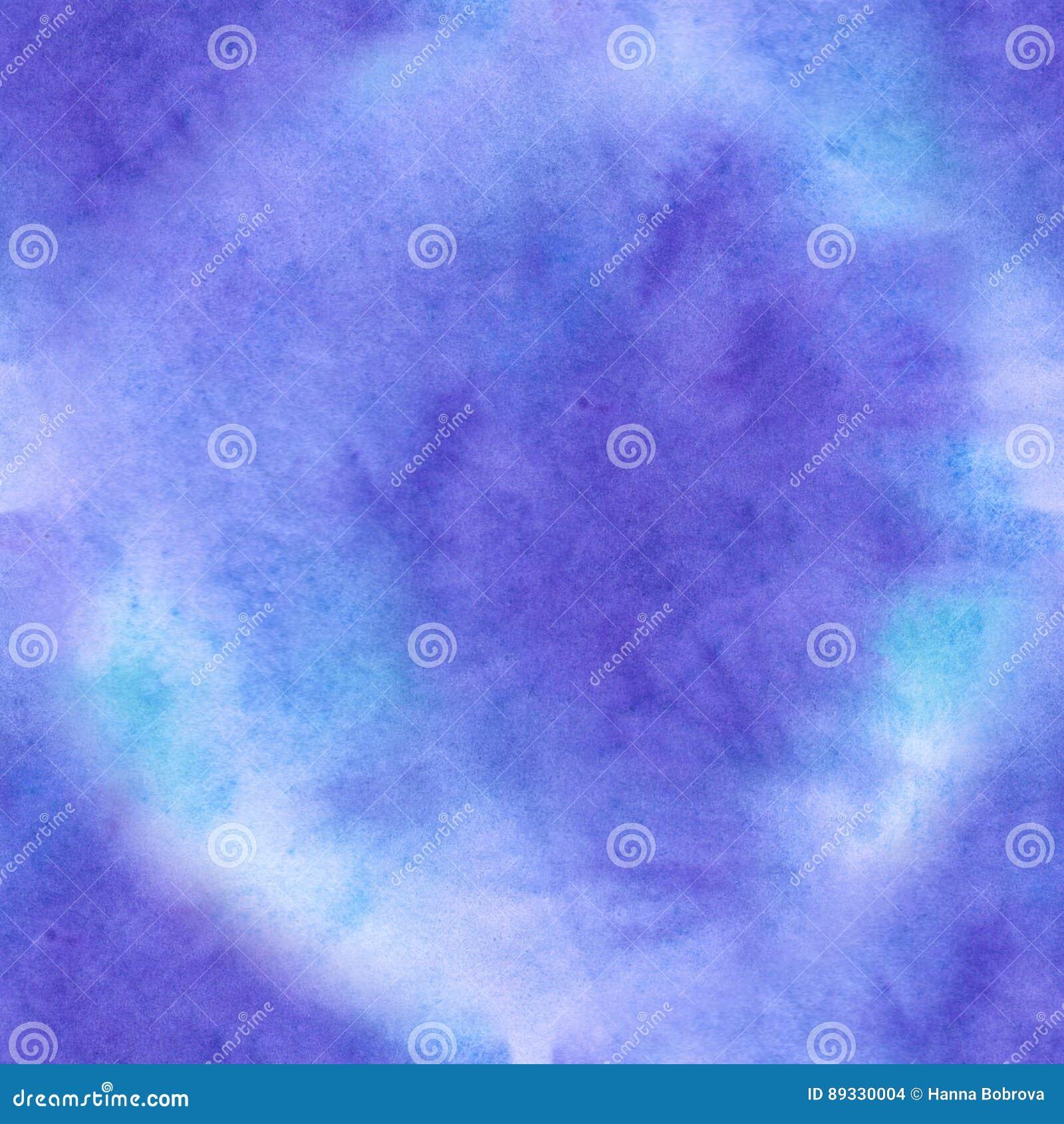 Aquarelle sans couture d ackground d abrégé sur texture d aquarelle bleue en vieux papier