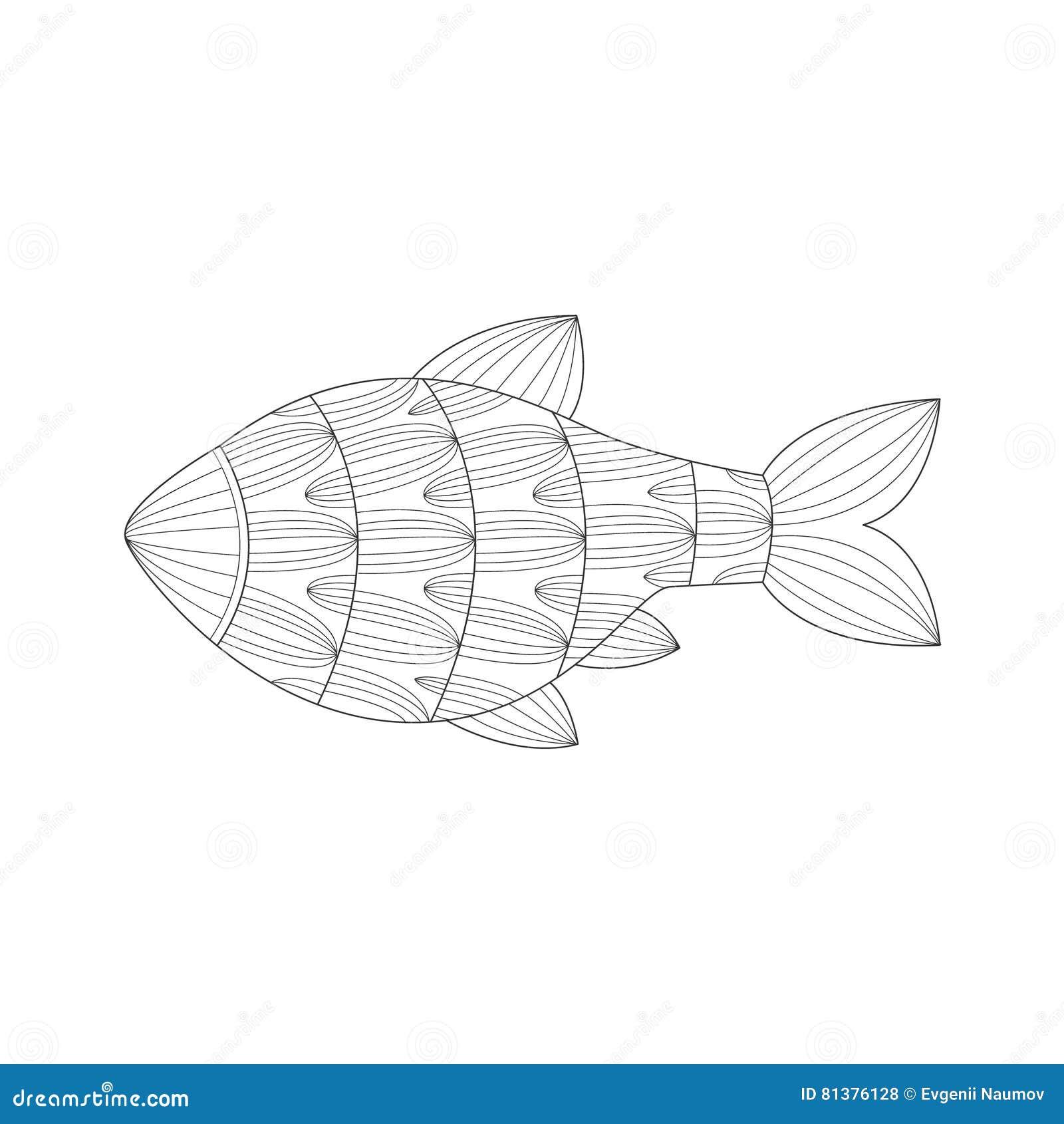 Royalty Free Vector Download Aquarium Tropical Fish